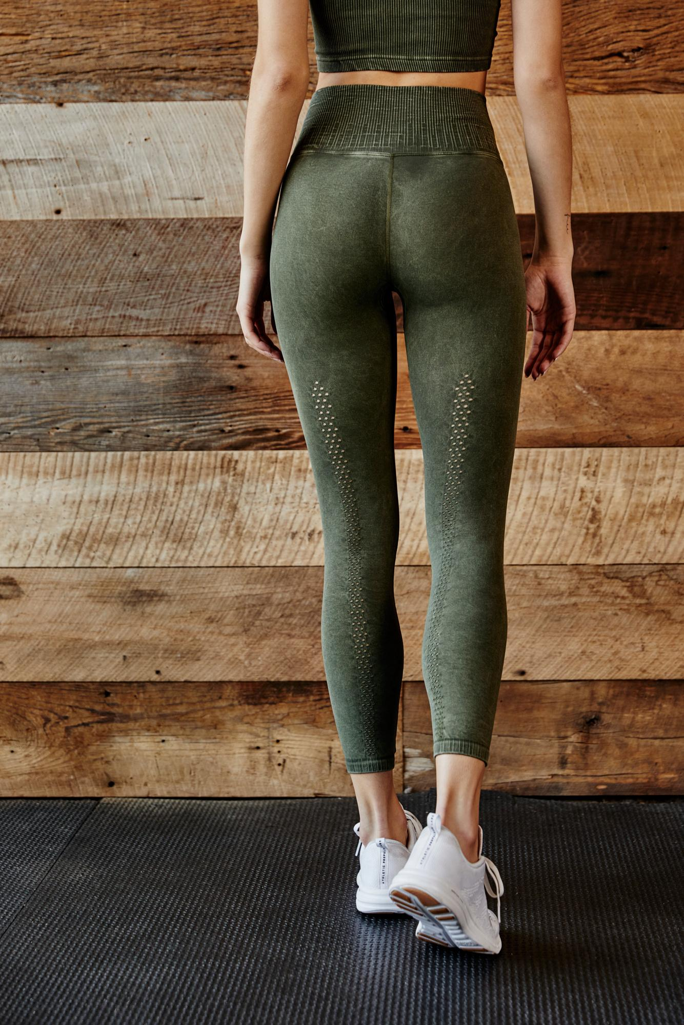 eb111cc9ed086 Free People High-rise 7/8 Length Shanti Legging By Fp Movement in ...