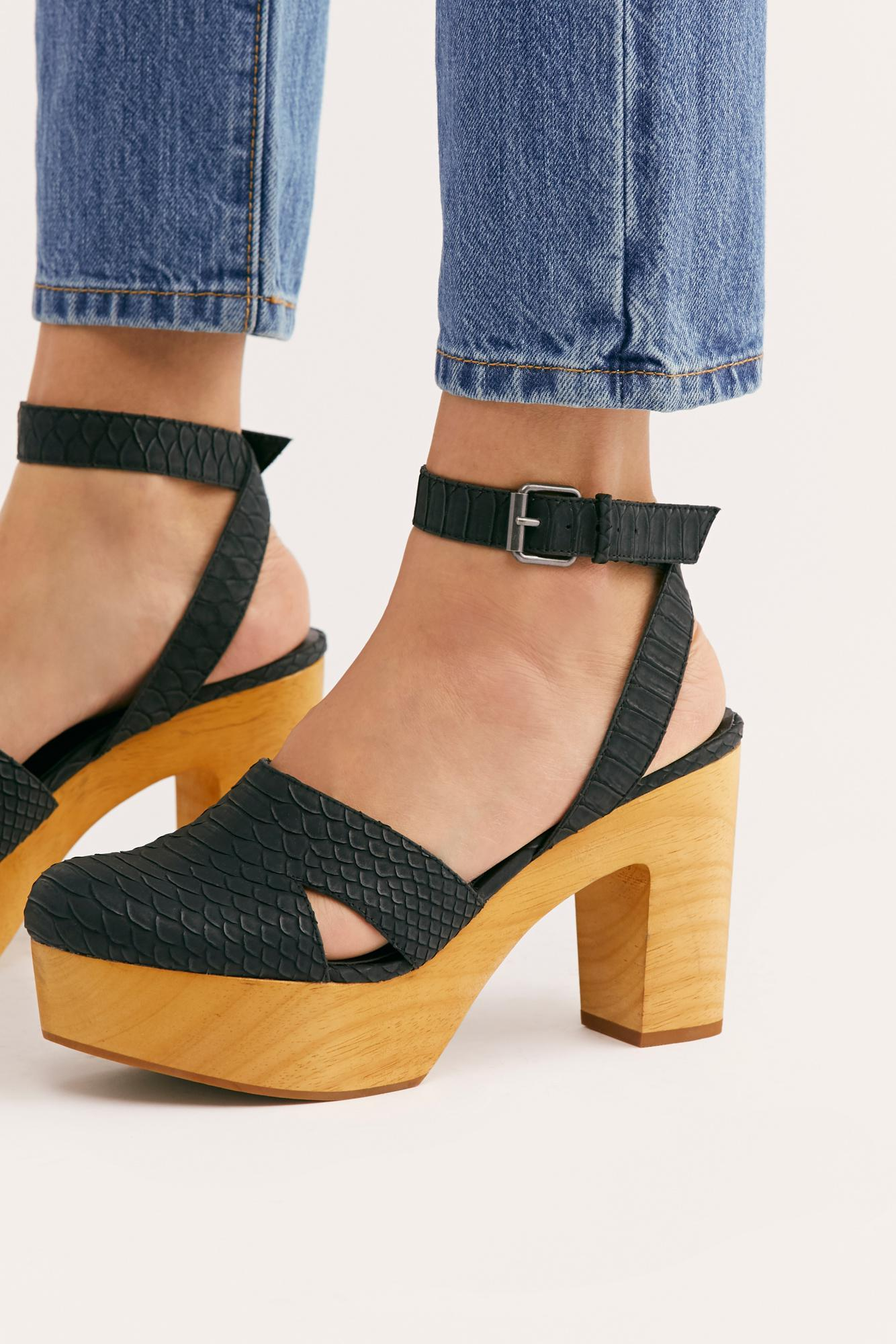 1a3a111ce044 Free People - Black Vegan Sunset Clog By Matisse - Lyst. View fullscreen