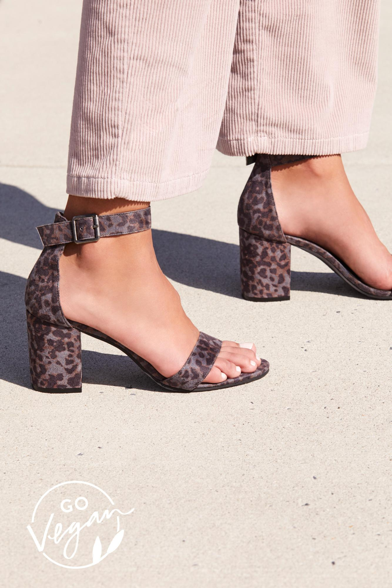 d33396425a1e Lyst - Free People Vegan Block Party Heel By Matisse in Gray
