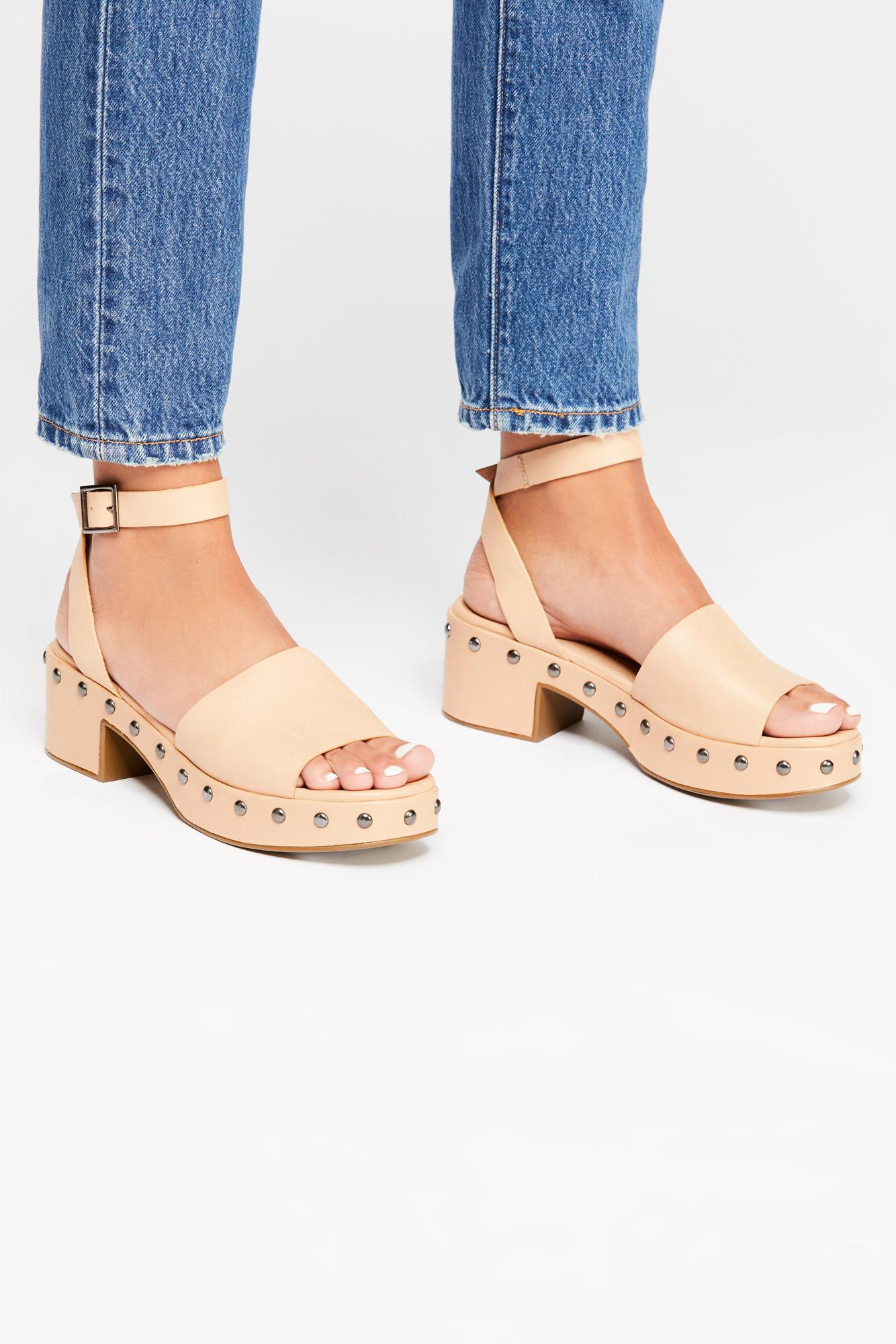 5ffe8c4ab50 Lyst - Free People Stand By Me Platform Sandal By Seychelles