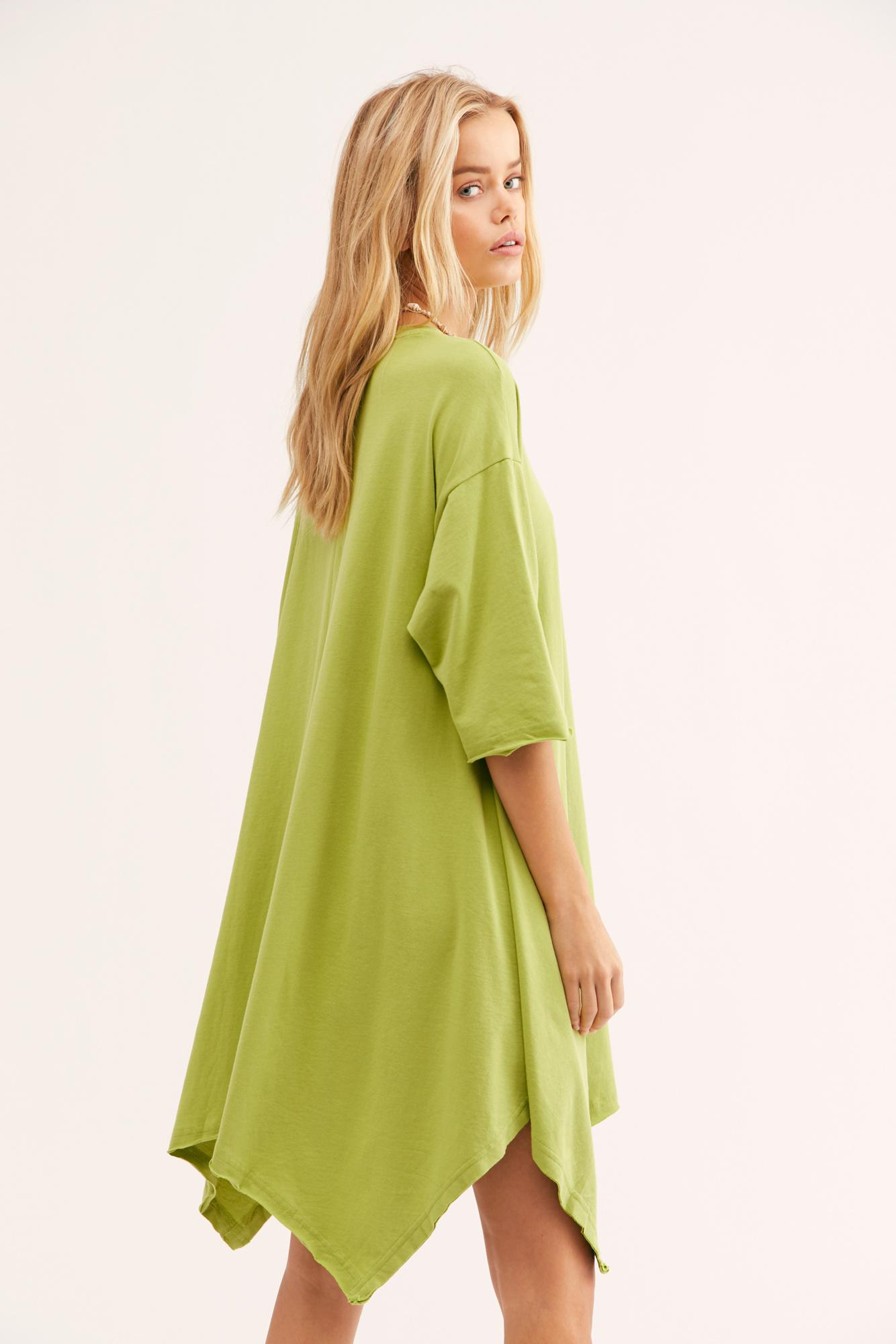 0dec97235c Free People Kahana Tunic in Green - Lyst