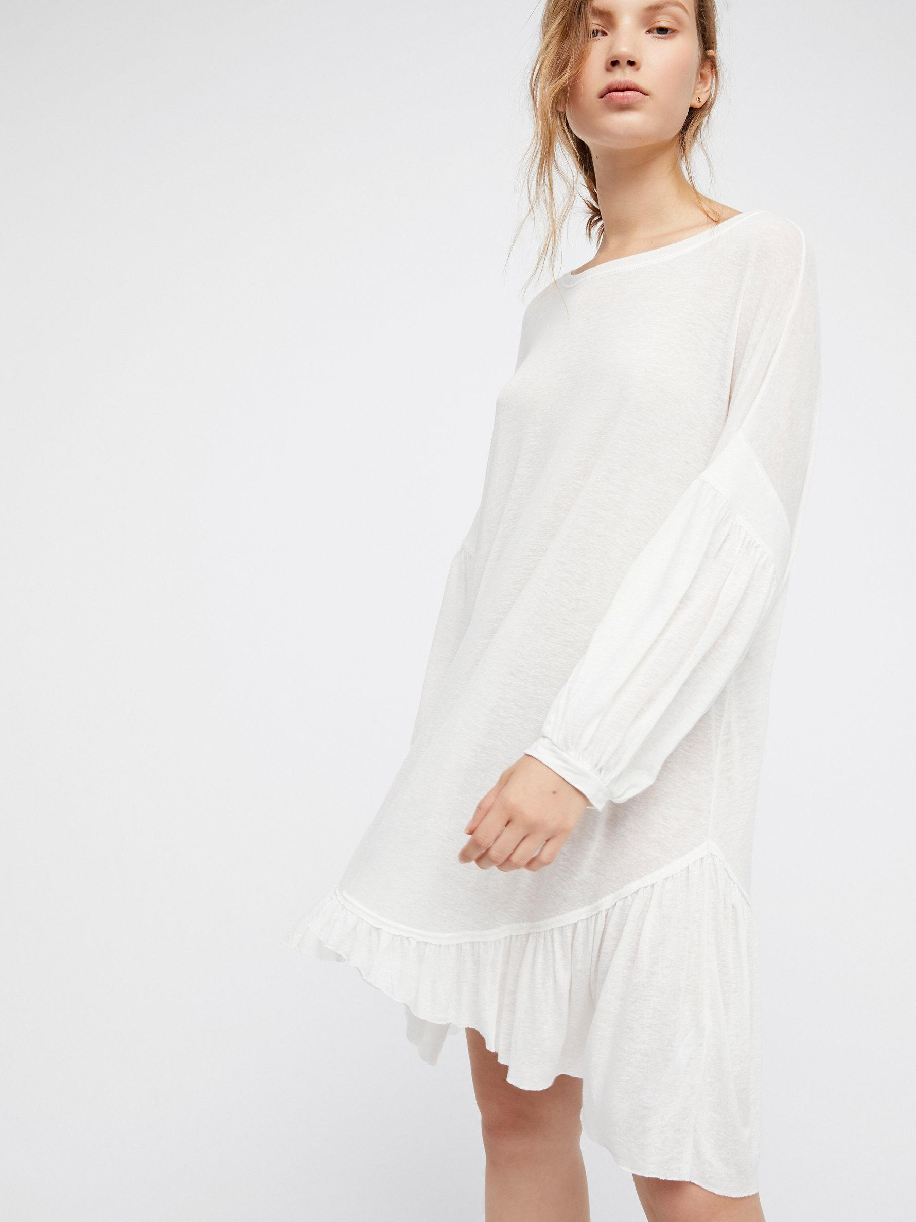 3e63f4e1d37 Free People Riverside Tunic By Fp Beach in White - Lyst