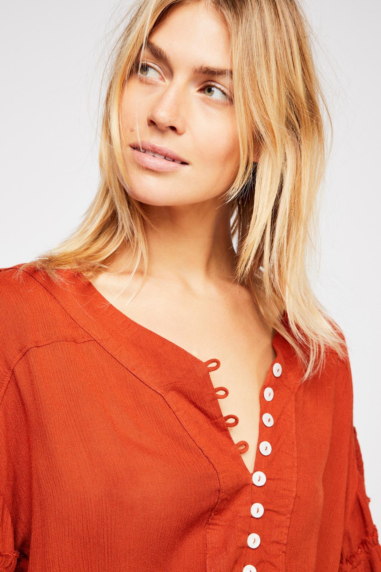 7514d56f7498 Lyst - Free People Romy Mini Dress By Endless Summer in Brown