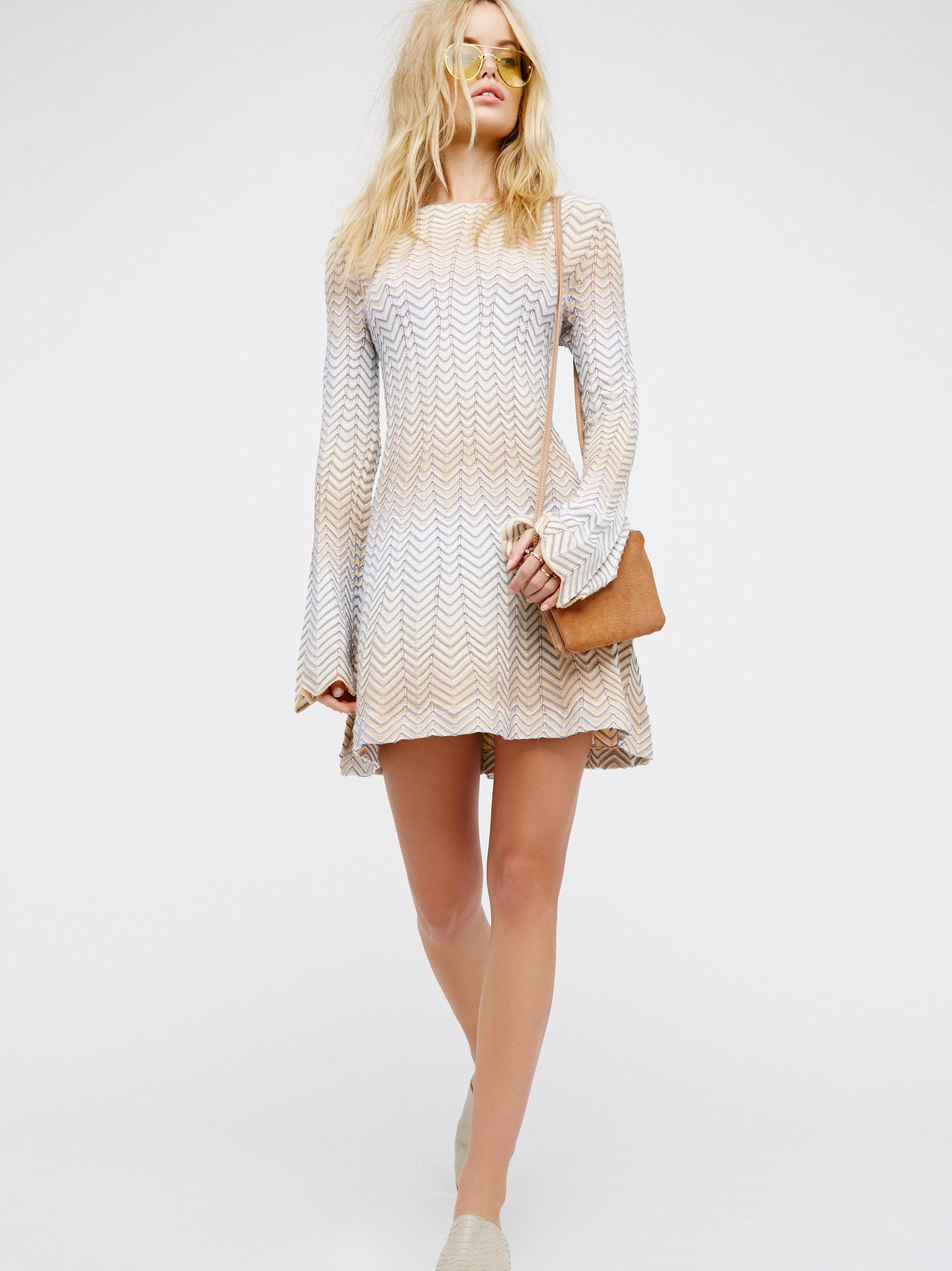 Lyst Free People Bella Sweater Mini Dress