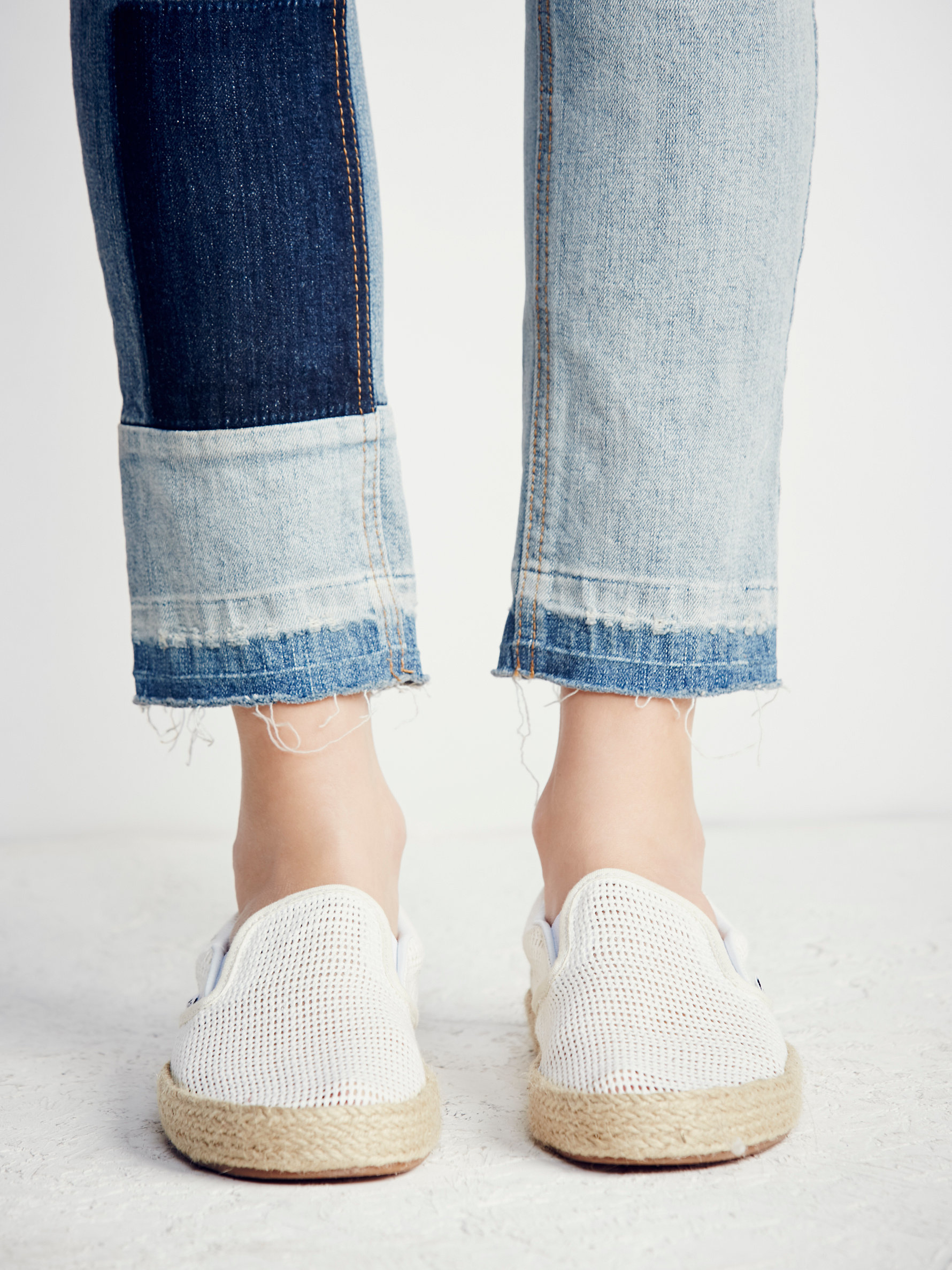 599a3d21a3b Lyst - Free People Classic Slip-on Espadrille Sneaker in Natural
