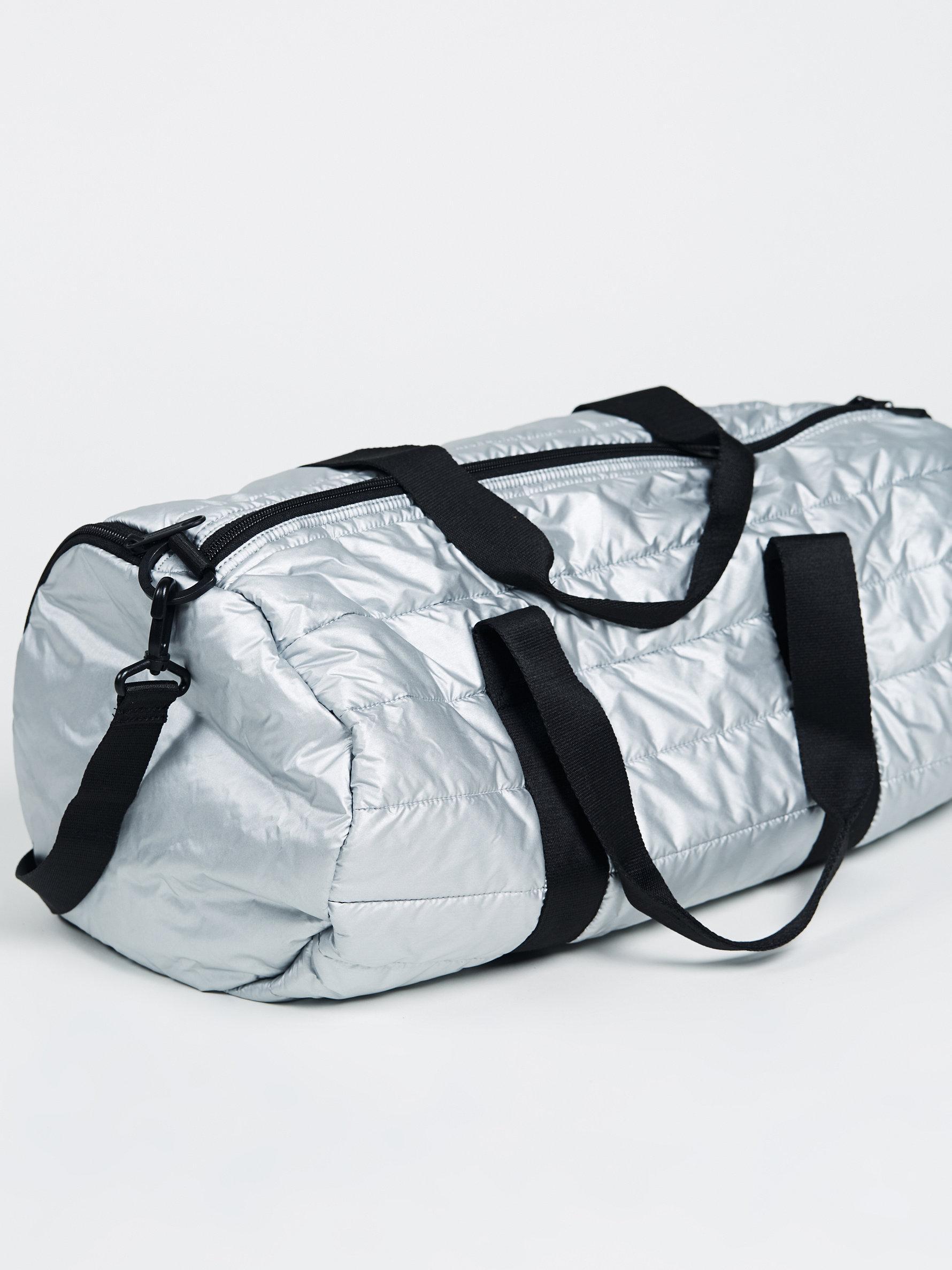 88c3fec88a Lyst - Free People Converse Packable Duffel in Metallic