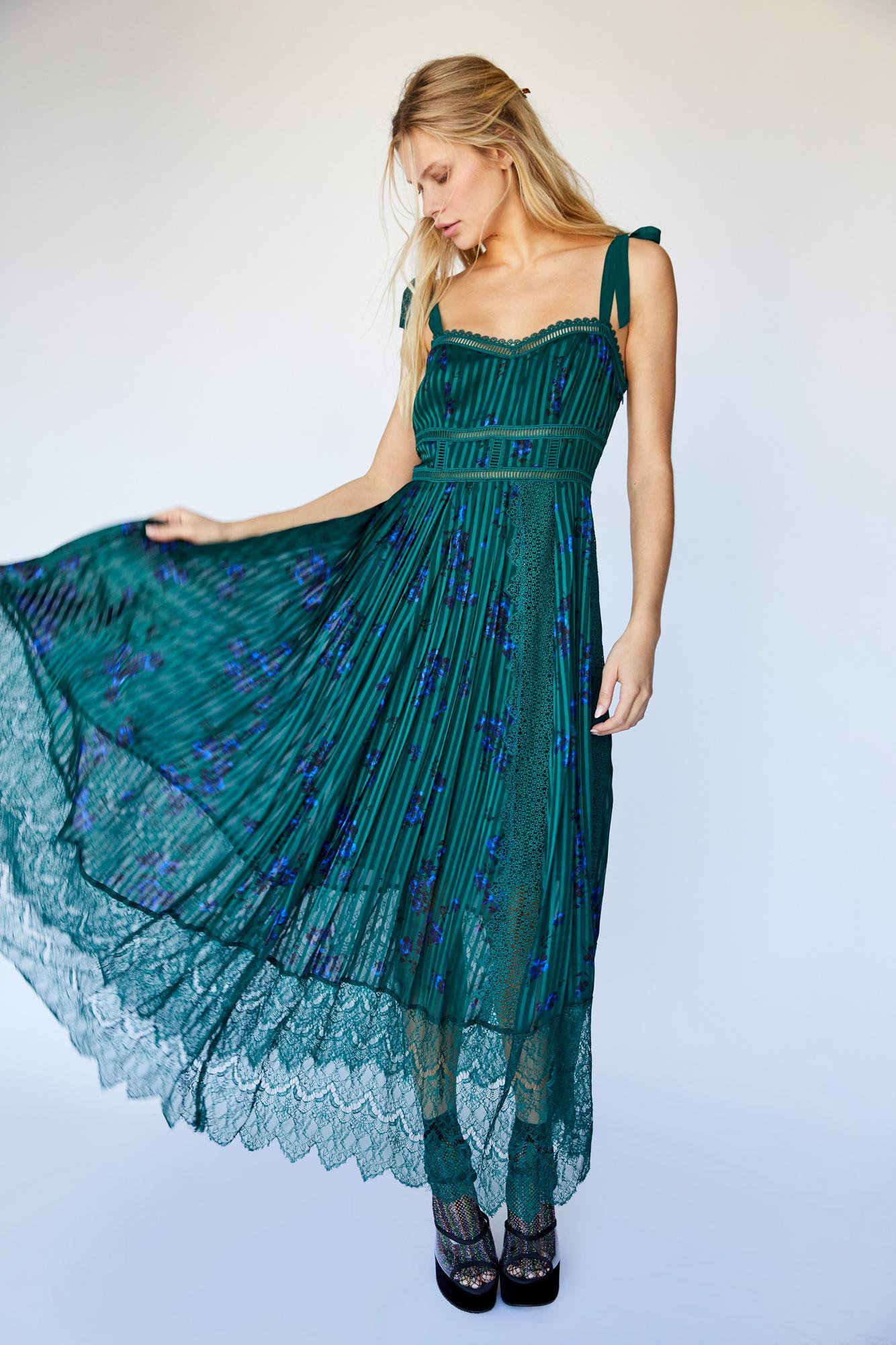 df065c7bc1 Free People Seven Wonders Maxi Dress - Lyst