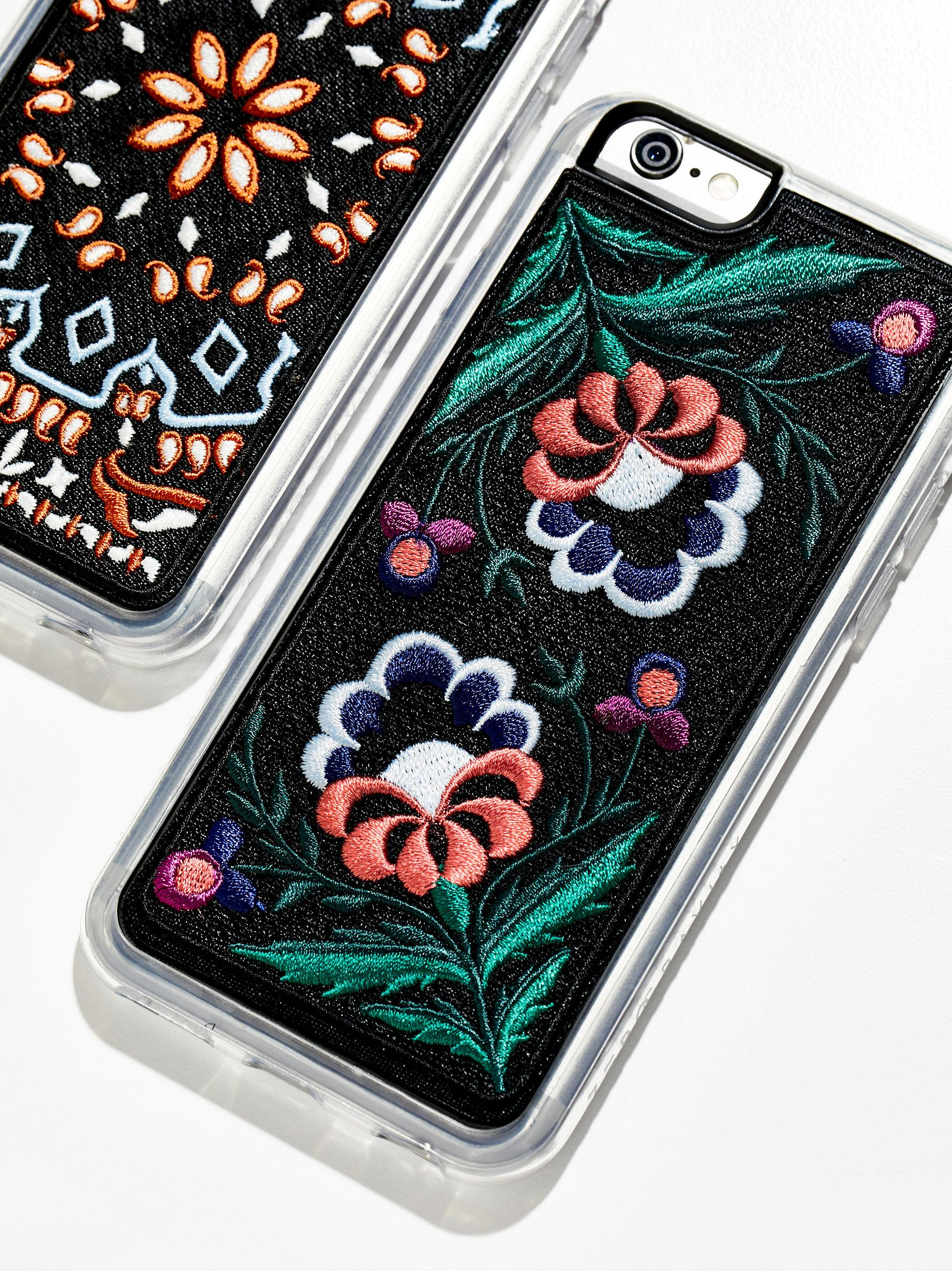 free people iphone case free embroidered iphone lyst 5941