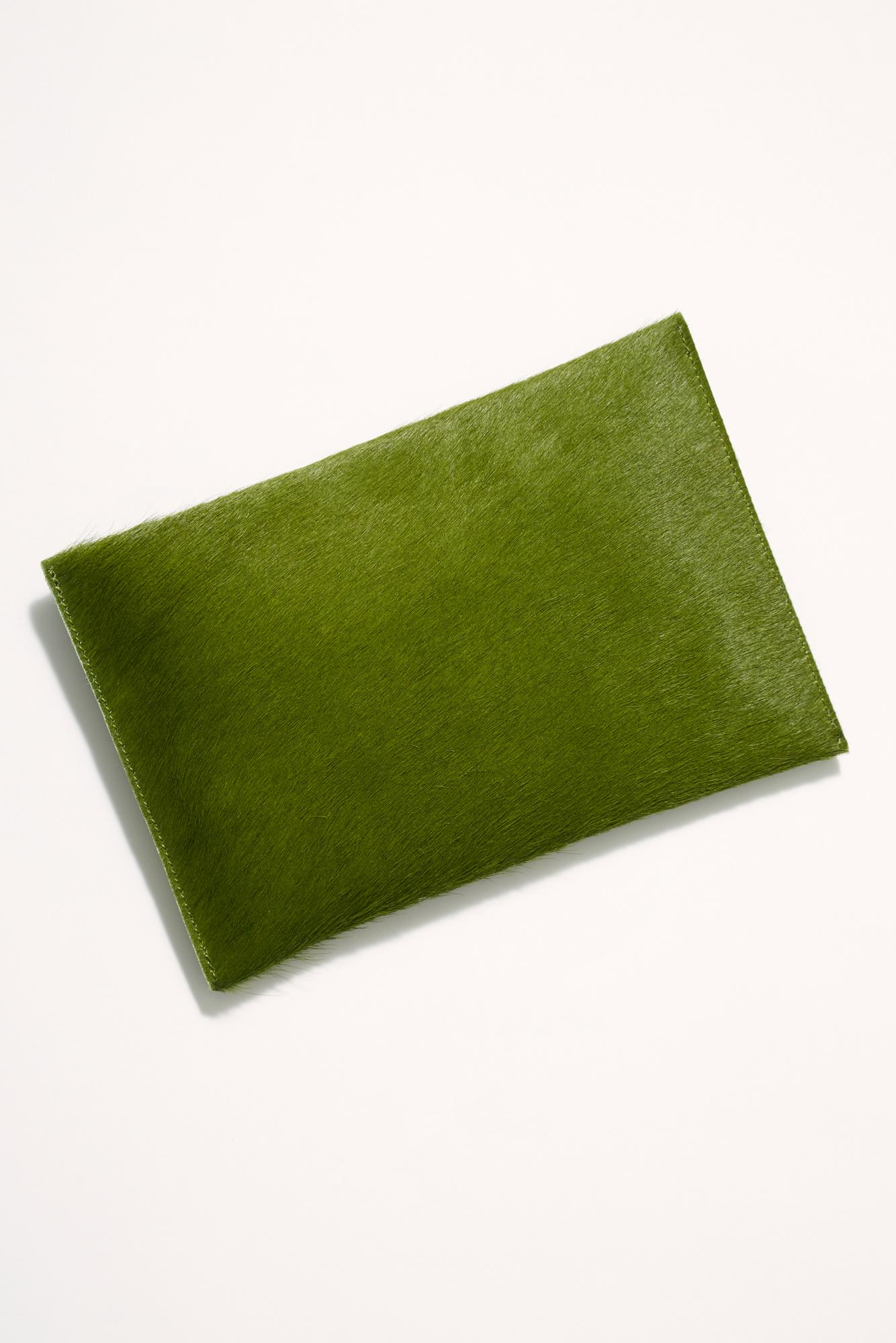 4bda5a74a Free People Primecut Envelope Clutch in Green - Lyst