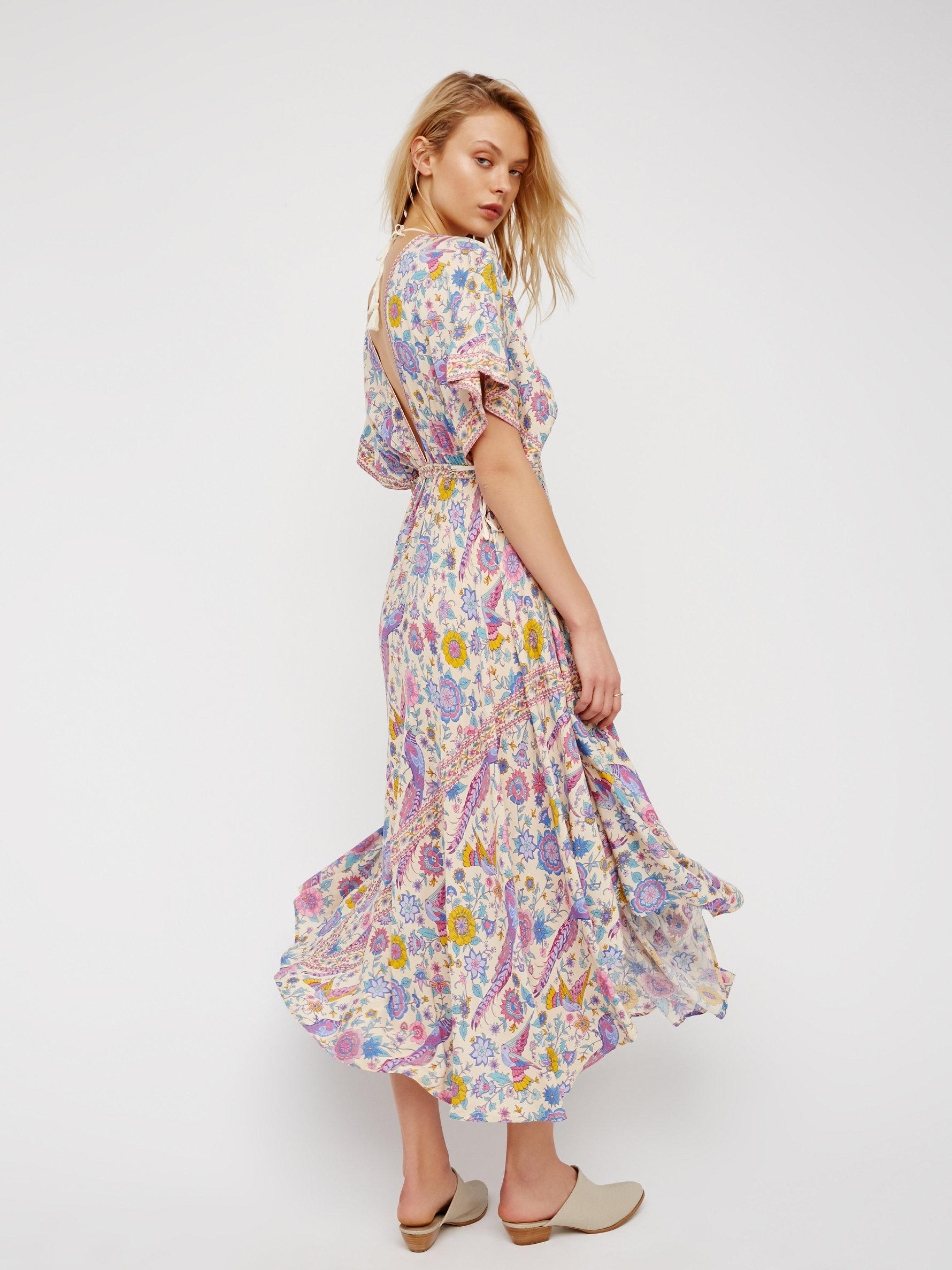 e4943bc755e4 Free People Lovebird Half Moon Gown - Lyst