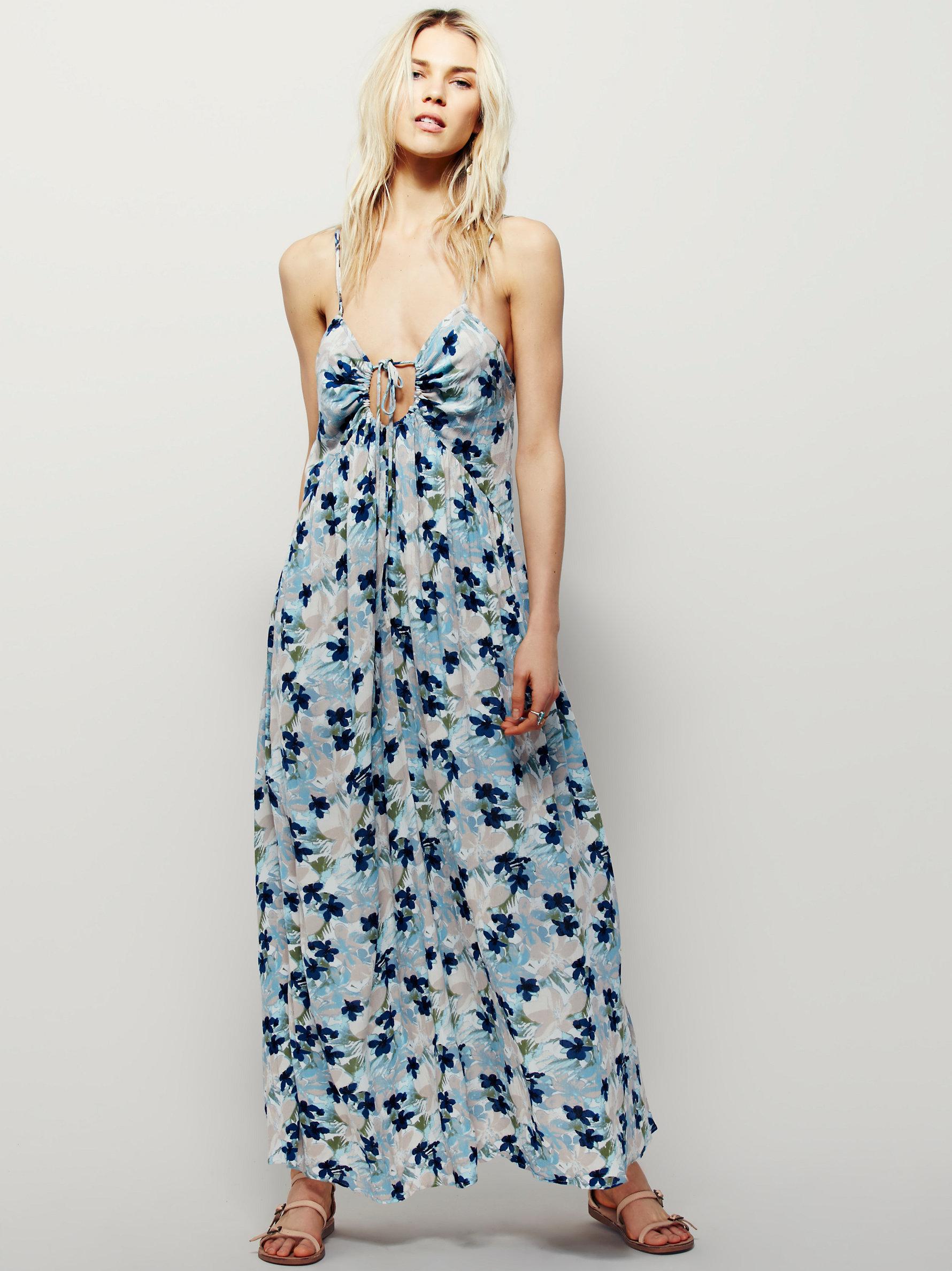91125fcfdec Free People Mulberry Dress in Blue - Lyst