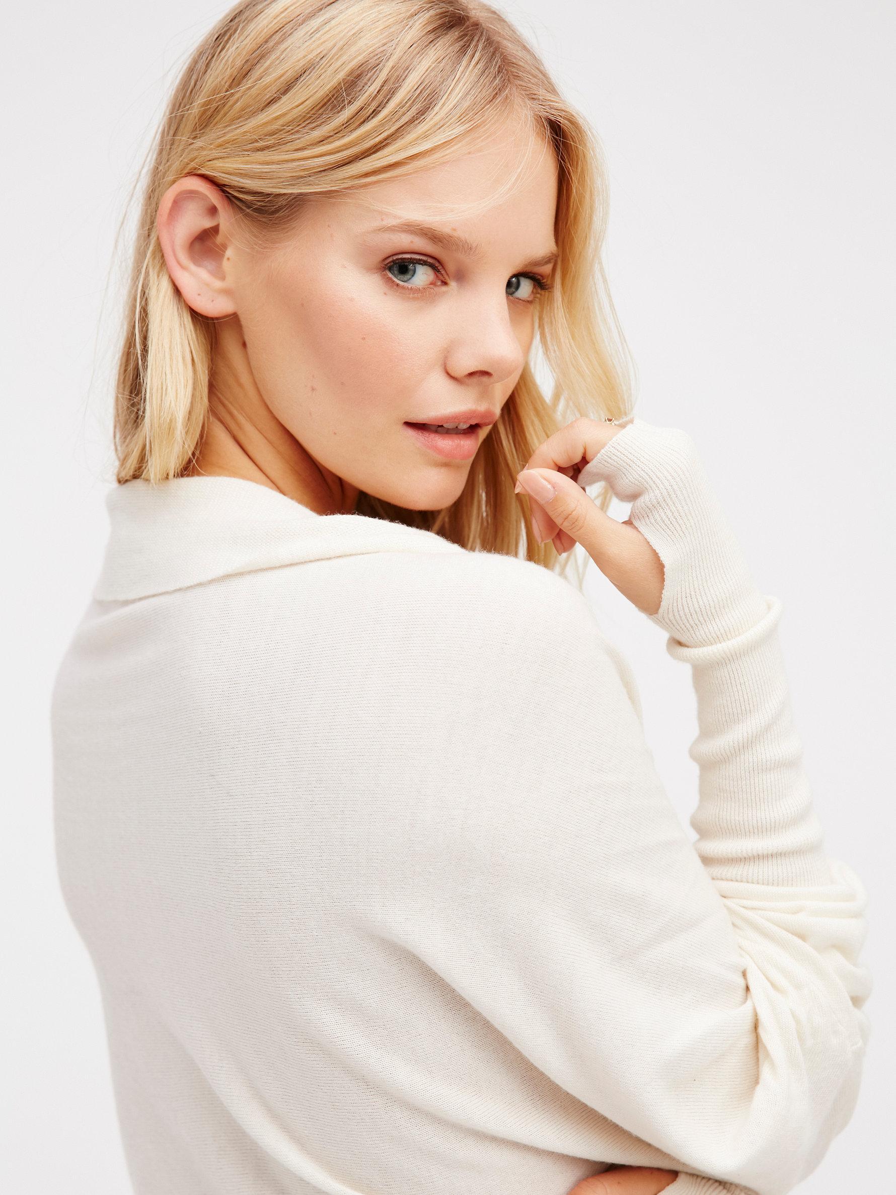 Lyst - Free People Reversible Long Sweater Dress 71a9f66e9