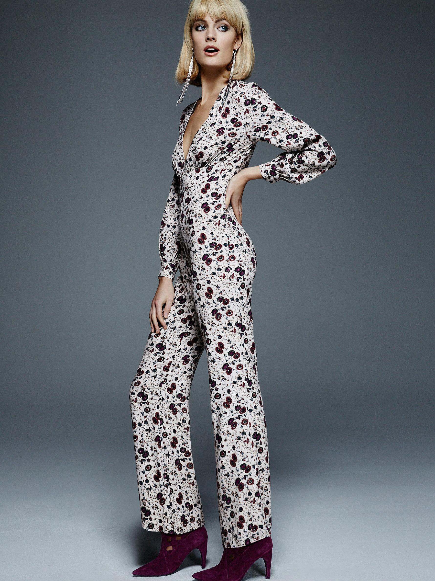13fa0fa926bf Lyst - Free People Some Like It Hot Jumpsuit in Purple