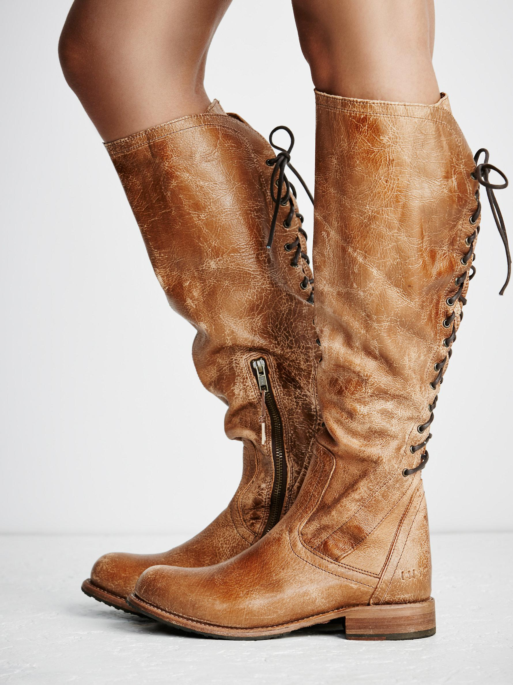 Lyst Free People Surry Lace Back Boot
