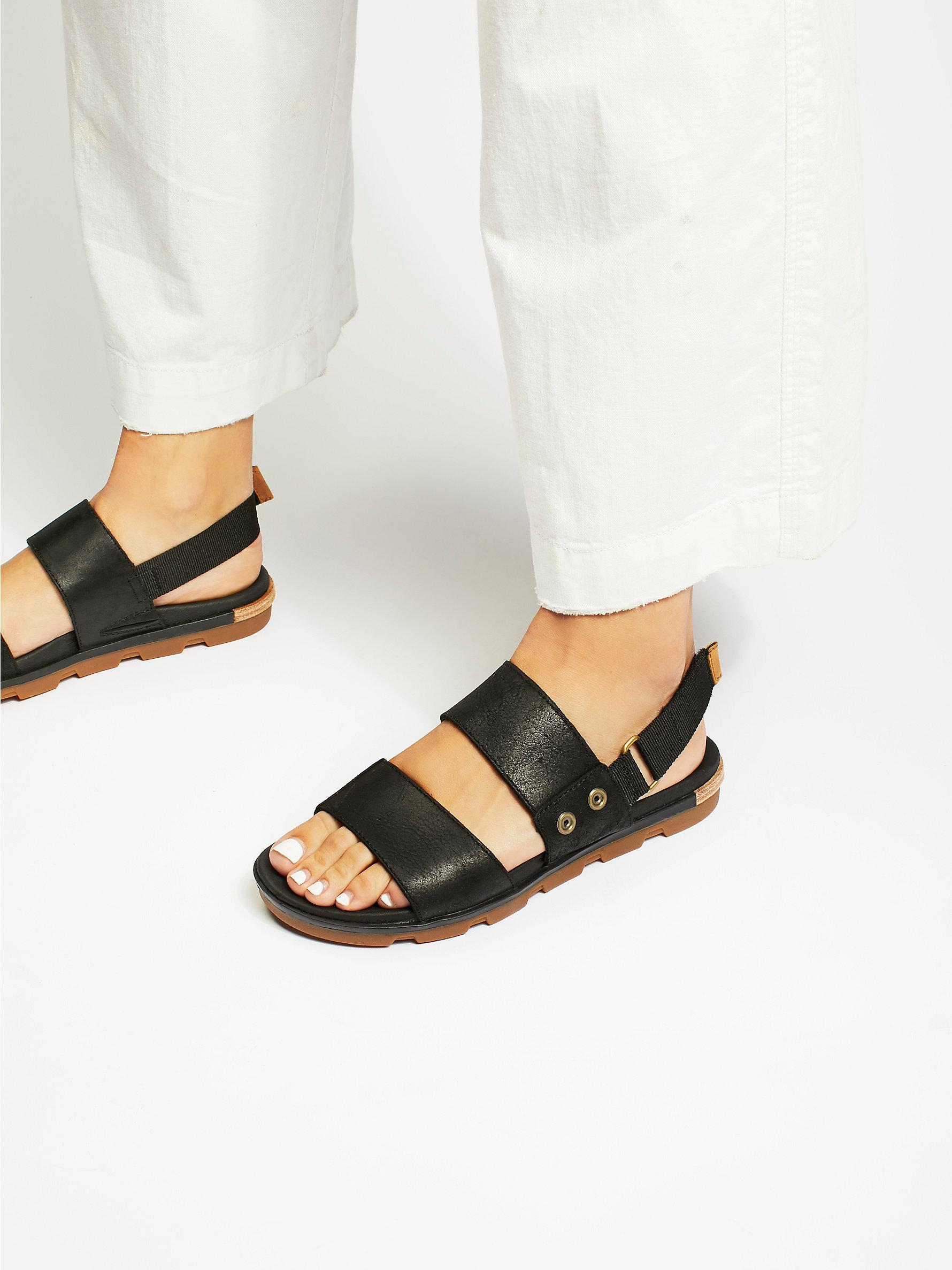 Free People Torpeda Sandal In Black Lyst
