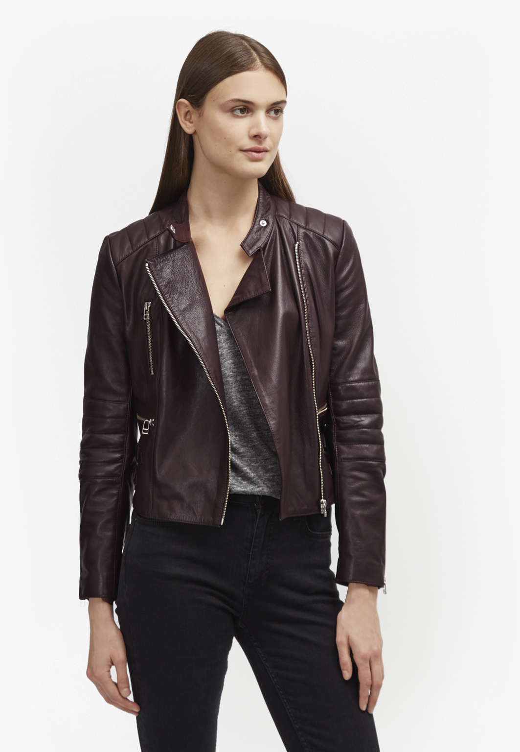French connection leather jackets