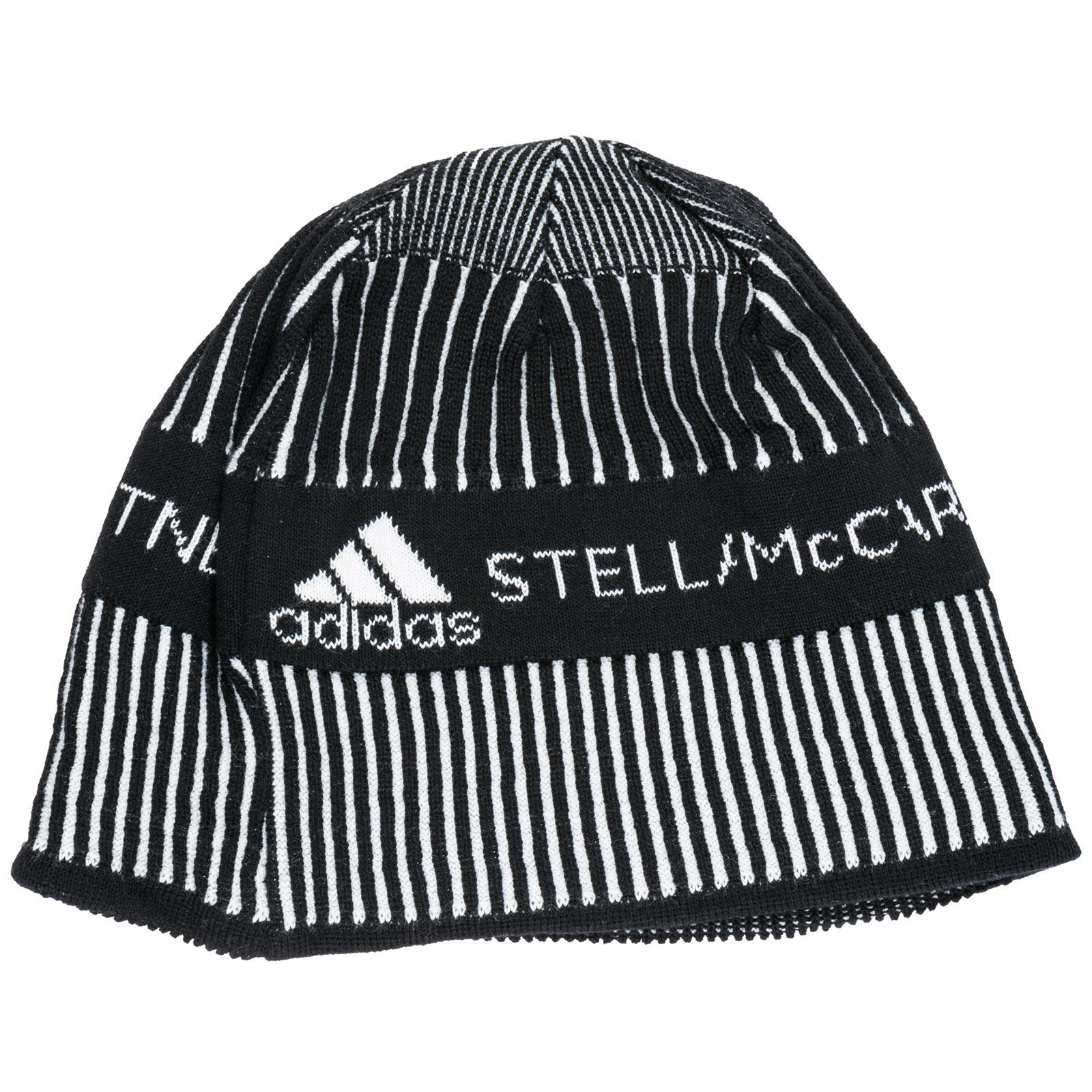 d1e4a1493539a Adidas By Stella McCartney - Black Beanie Hat - Lyst. View fullscreen
