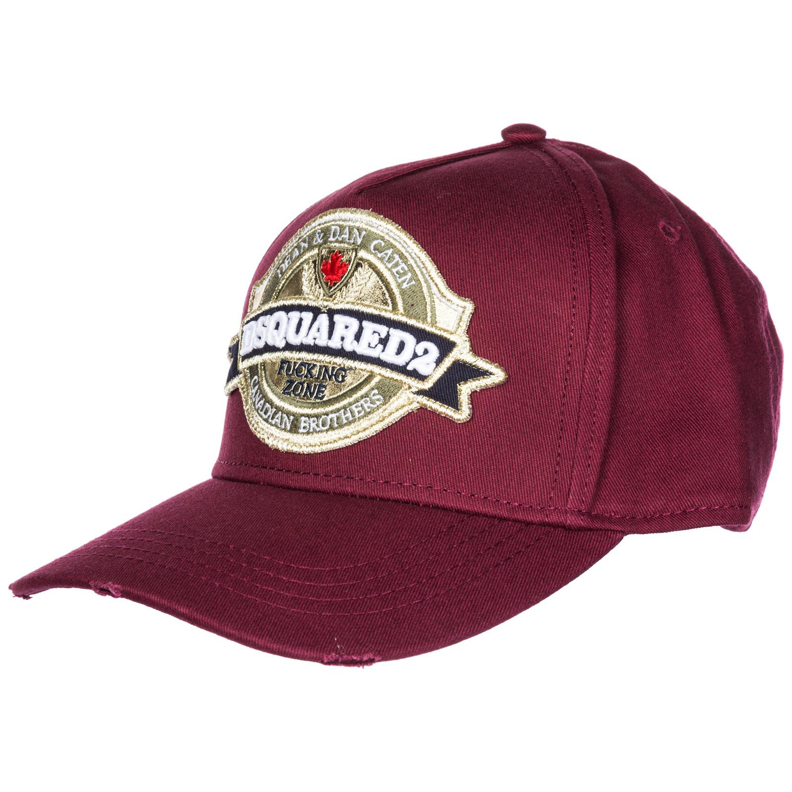 9b4a3f9ca9963 DSquared². Men s Adjustable Cotton Hat Baseball Cap Canadian Brothers