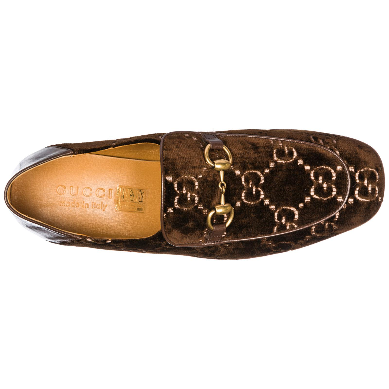 11158172a92 Gucci Loafers Moccasins in Brown for Men - Lyst