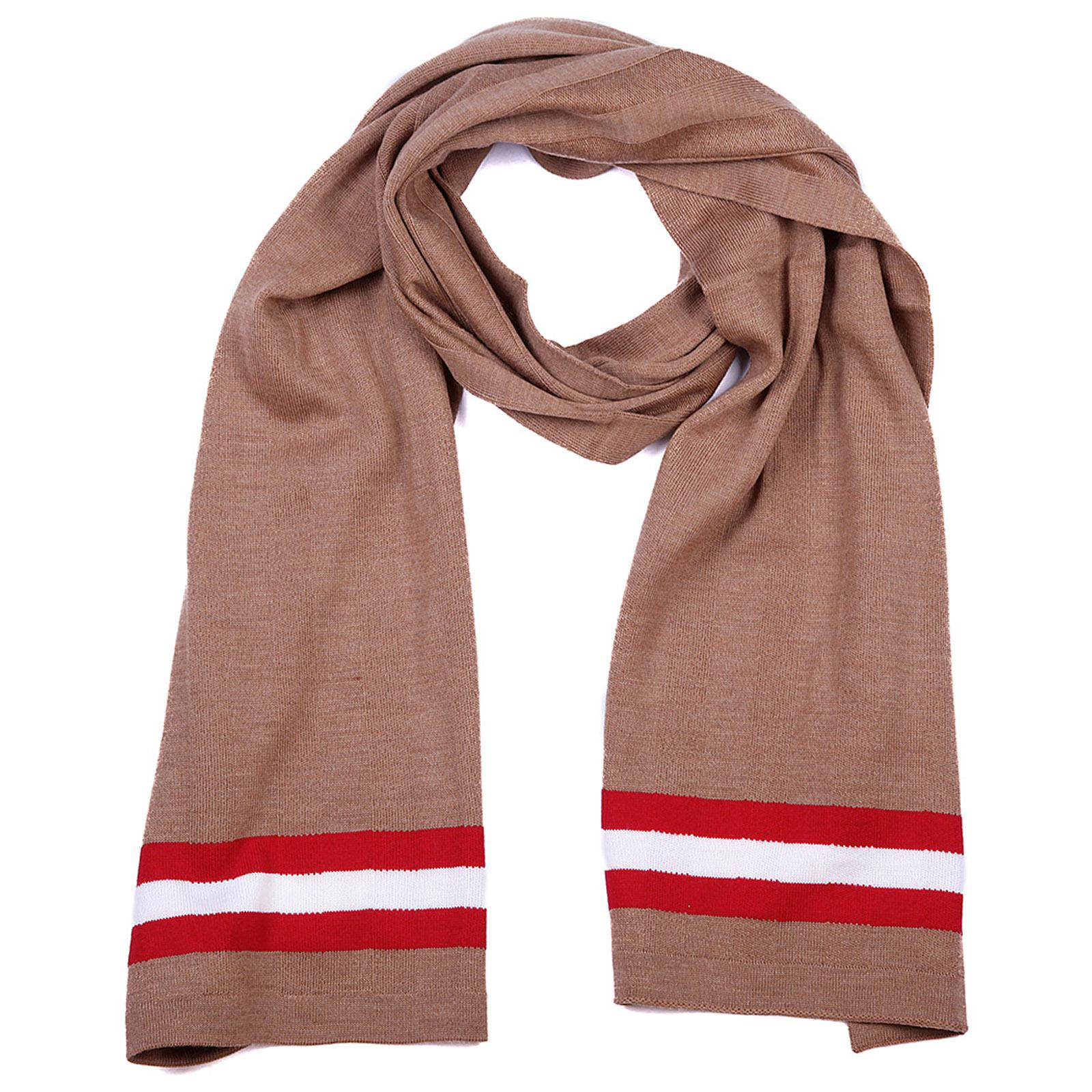 a23669a04ef Bally Wool Scarf Camel Knits in Red for Men - Lyst