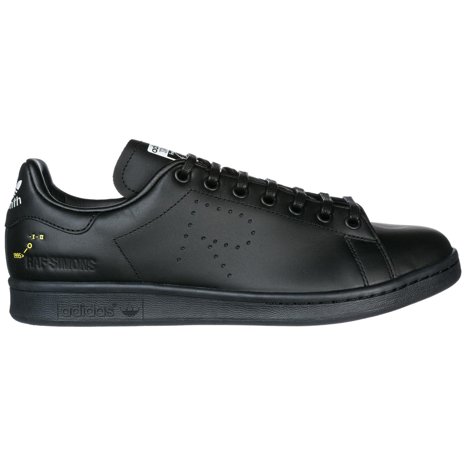 adidas By Raf Simons. Men s Black Shoes Leather Trainers Trainers Rs Stan  Smith 0e58dfa06e0