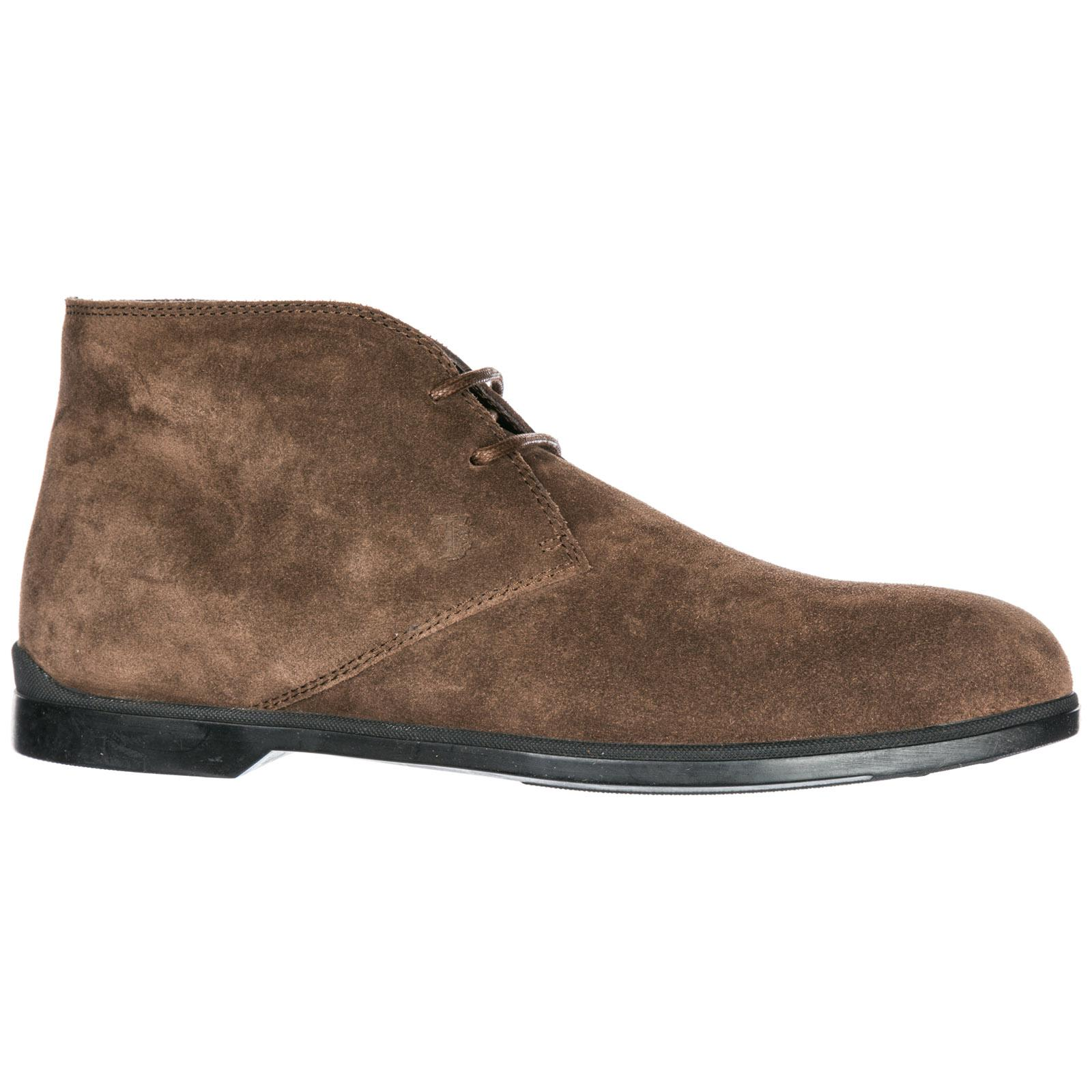 a21b4635 Tod's Suede Desert Boots Lace Up Ankle Boots in Brown for Men - Lyst