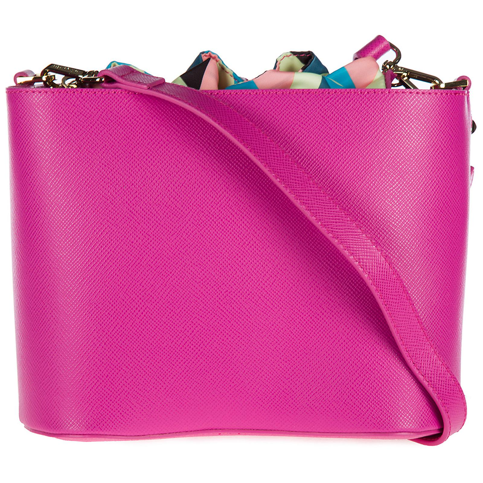 b488bf3a5d Patrizia Pepe Cross-body Messenger Shoulder Bag in Pink - Lyst