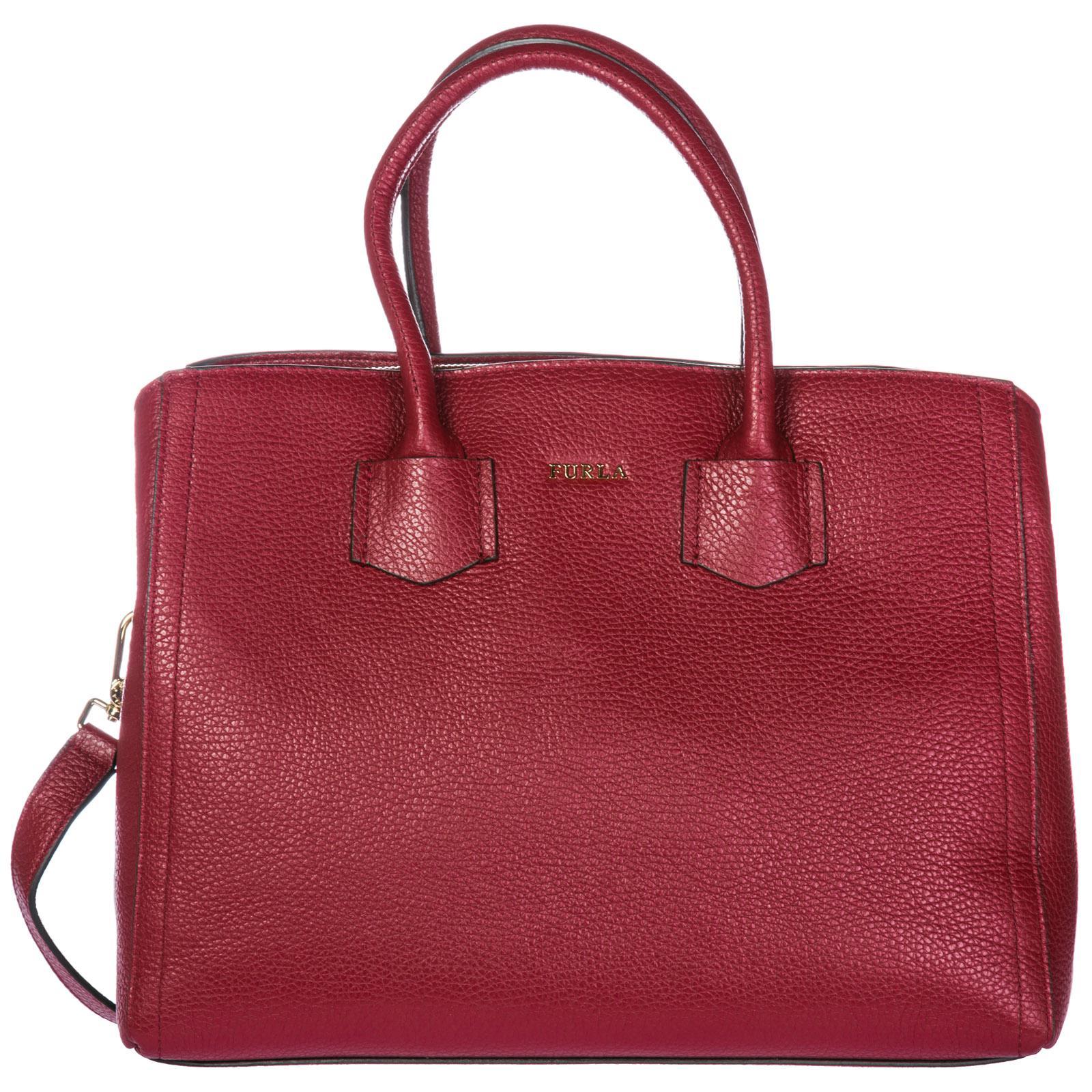 Red In Donna Mano Alba Borsa Furla A Lyst Tracolla Yp04Cxqv d61edf54220