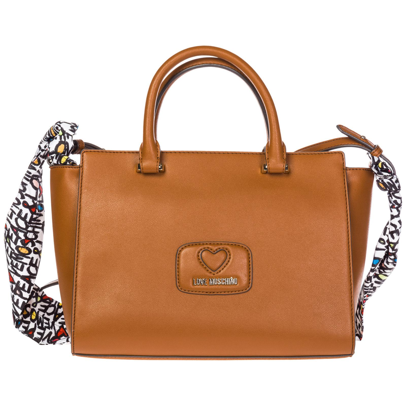 Lyst - Love Moschino Shoulder Bag in Brown 62a3c16a612