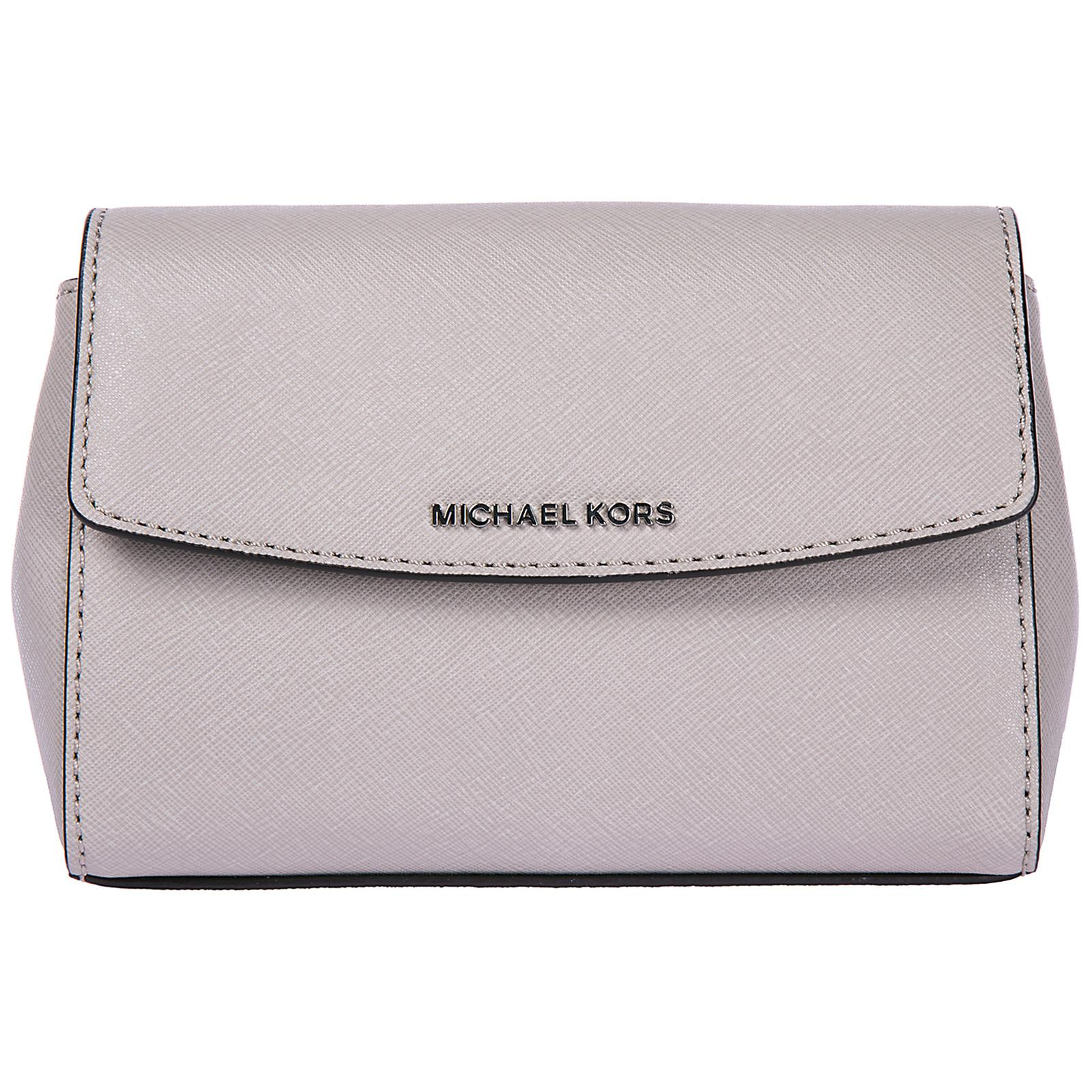 9a20ea71f3d8 Lyst - Michael Kors Leather Clutch Handbag Bag Purse Ava