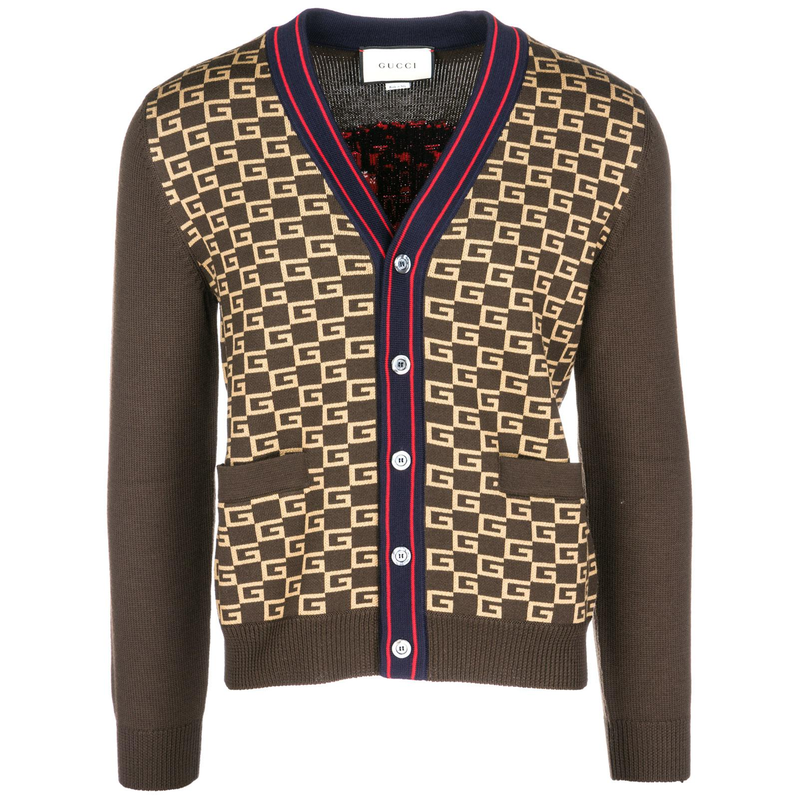f130a78a9fa50a Gucci Cardigan Jumper Sweater Pullover for Men - Lyst