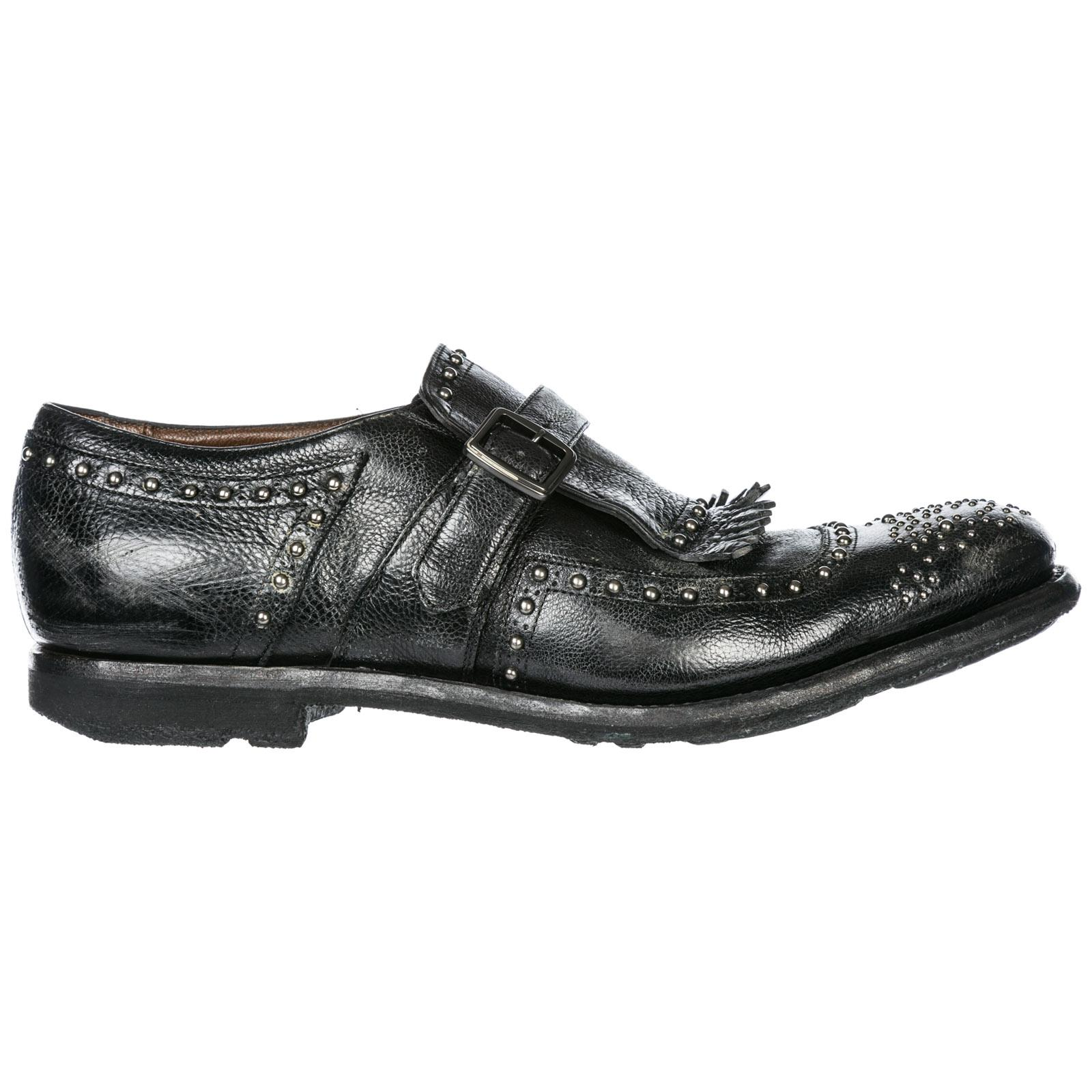 Church s Classic Leather Formal Shoes Slip On Shangai in Black for ... b0ccf4fc4ab