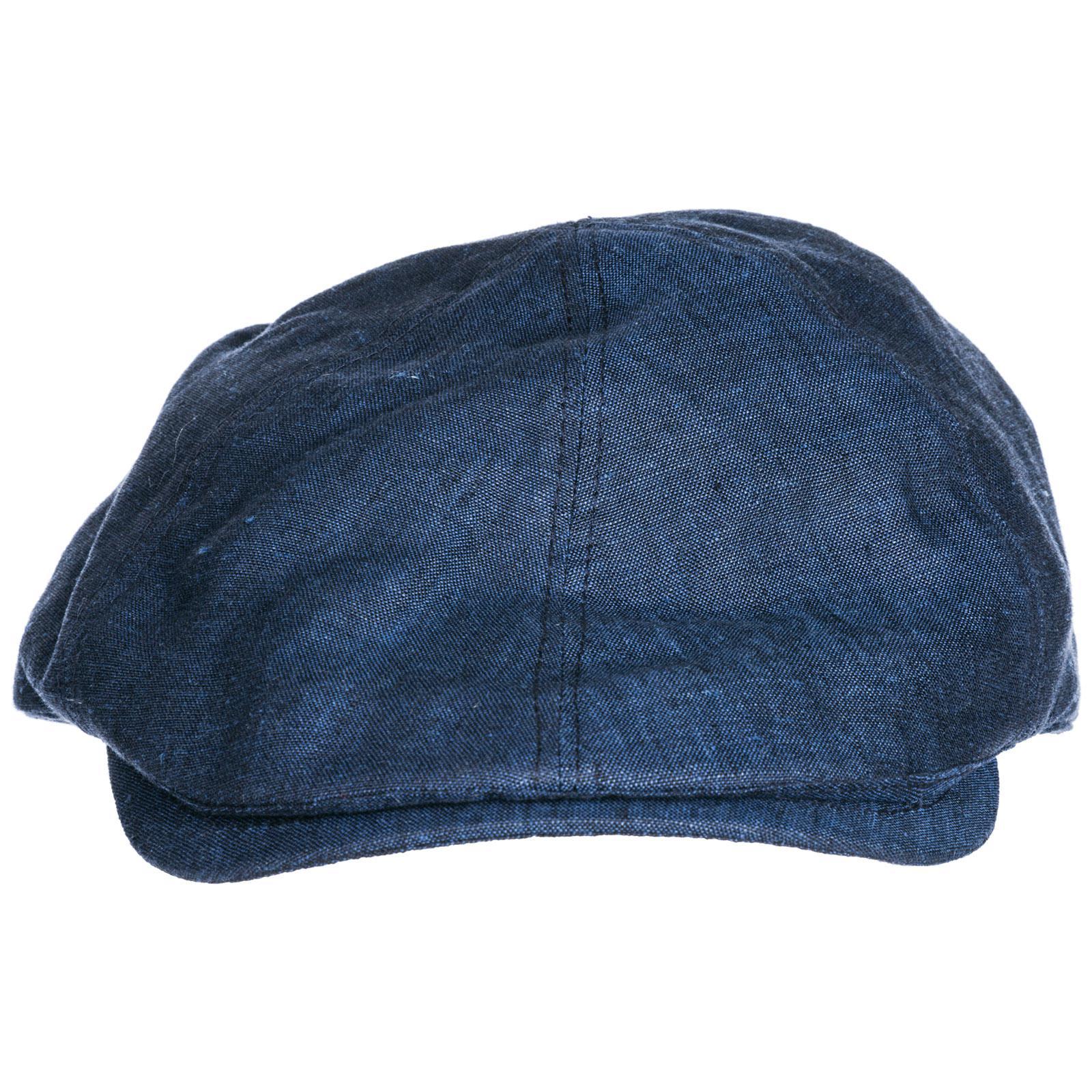 38a7fa4826780 Emporio Armani Flat Hat Sboy Cap Gatsby in Blue for Men - Lyst