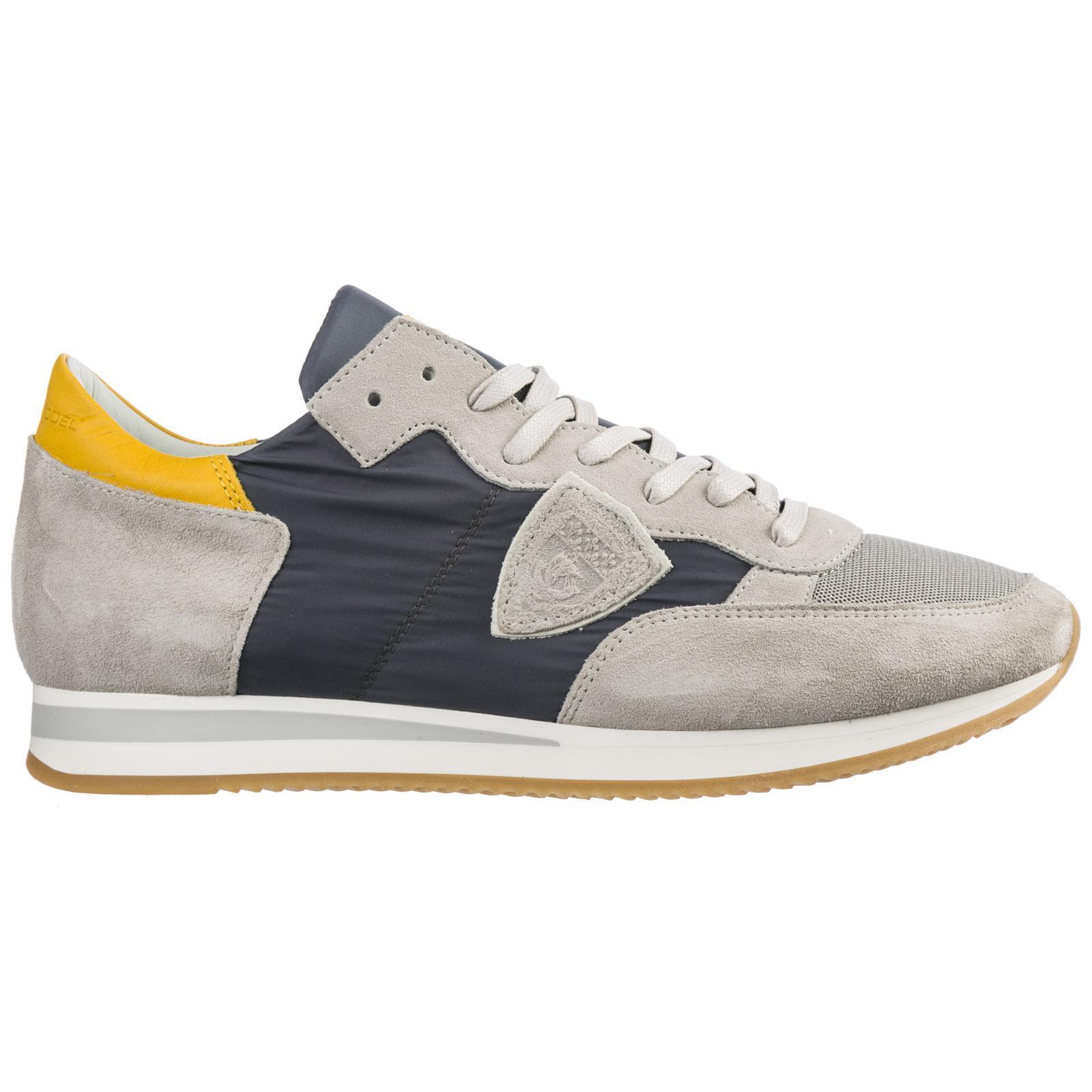 283fc0a788f3a Lyst - Philippe Model Scarpe Sneakers Uomo Camoscio Tropez for Men