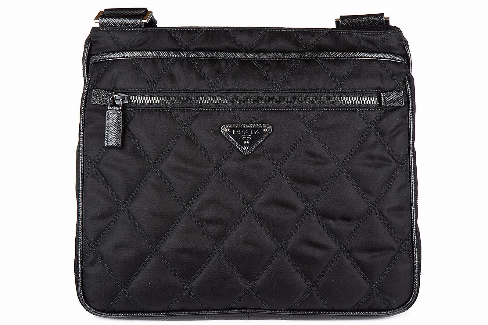 Satchel Bags - Cartella Satchel Bag Nylon Nero/Loto - black - Satchel Bags for ladies Prada XNyrqO