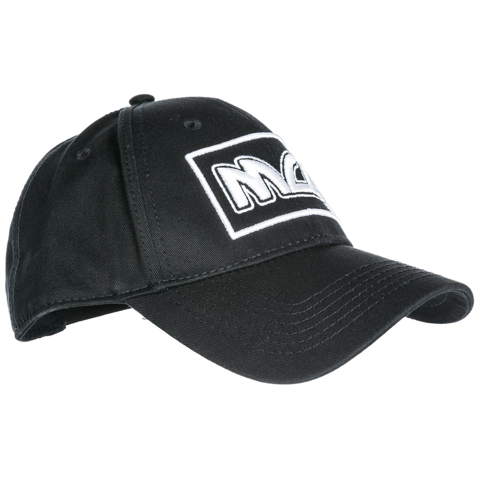 e0db5ccdd McQ Adjustable Men's Cotton Hat Baseball Cap Metal Logo in Black for ...