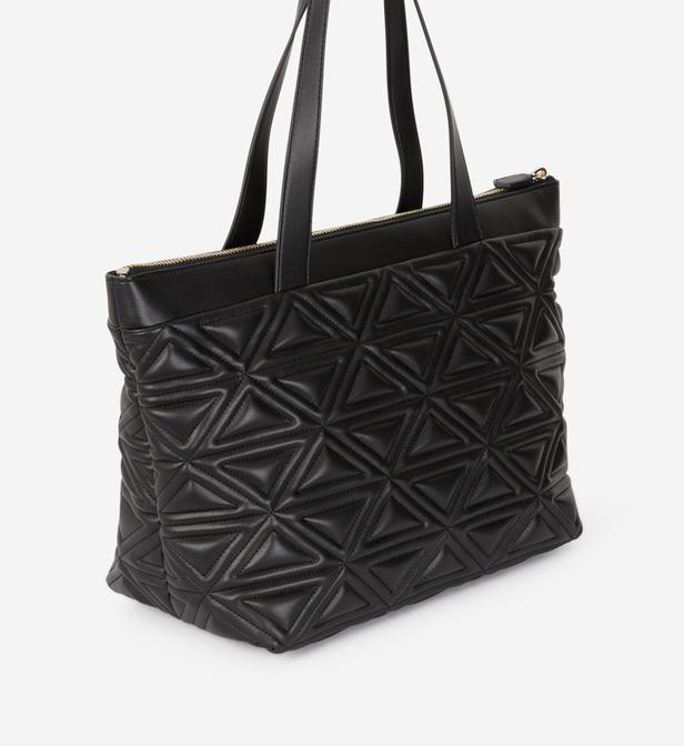 Lyst - Sac cabas shopping Eloise L Emporio Armani en coloris Noir 85389e42008