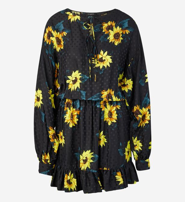 Robe Kooples Fluide Tournesols Lyst The ZdBwZU