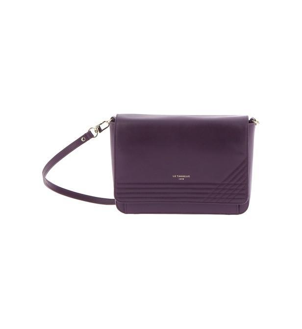 Lyst - Sac pochette en cuir Le Tanneur en coloris Violet 701a8b143f9