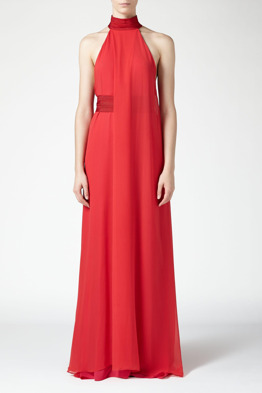 Flamingo dress - Red Galvan Cheap Price For Sale UEVvRFfF