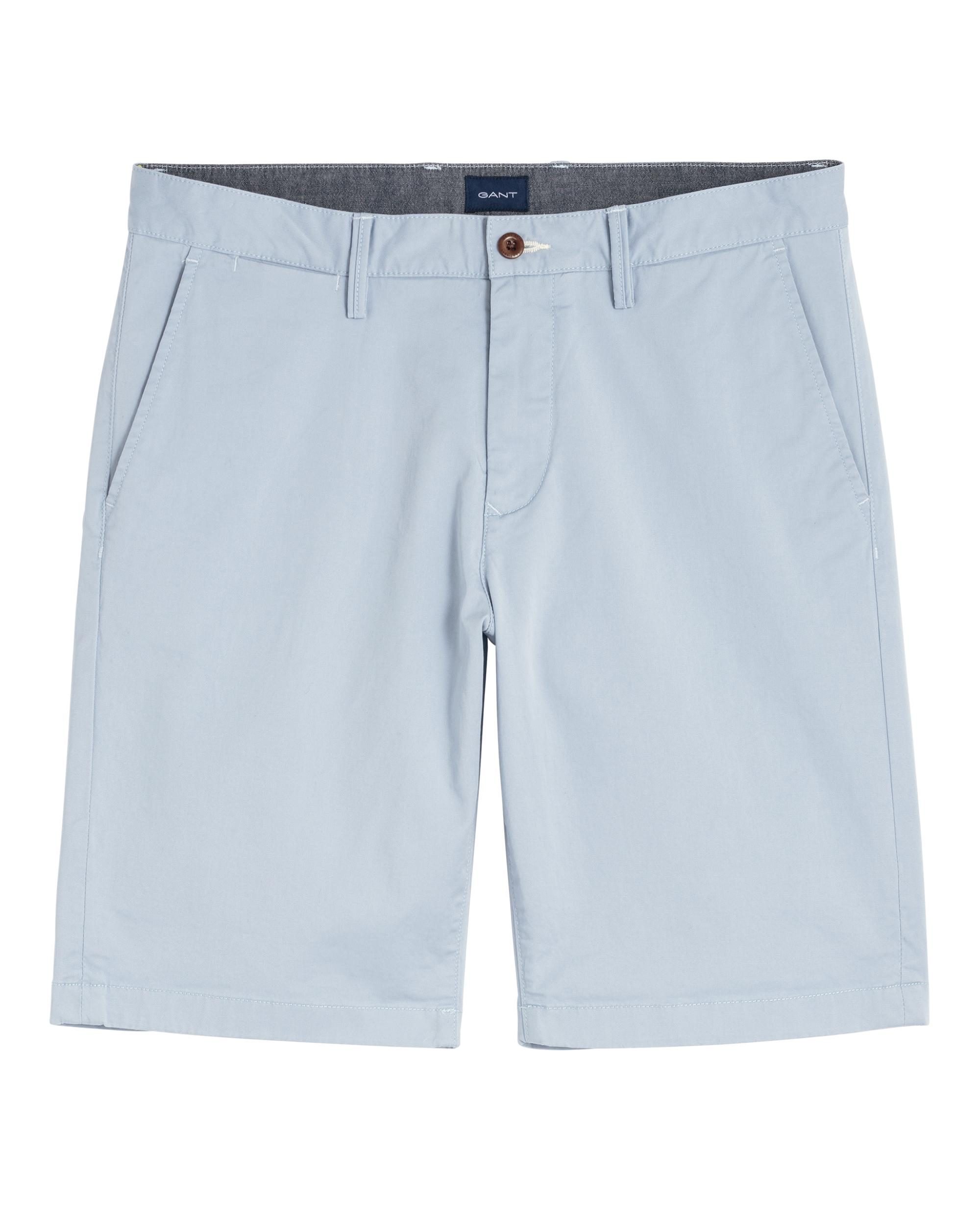 Lyst Blue Gant For Shorts Twill Men Relaxed In OCCwFxaq
