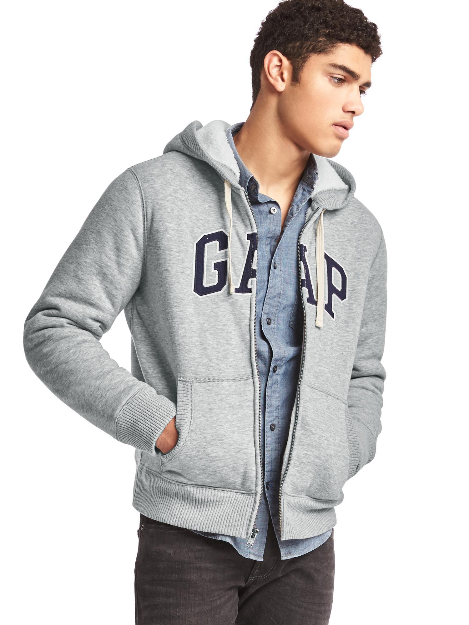 Gap sherpa hoodie