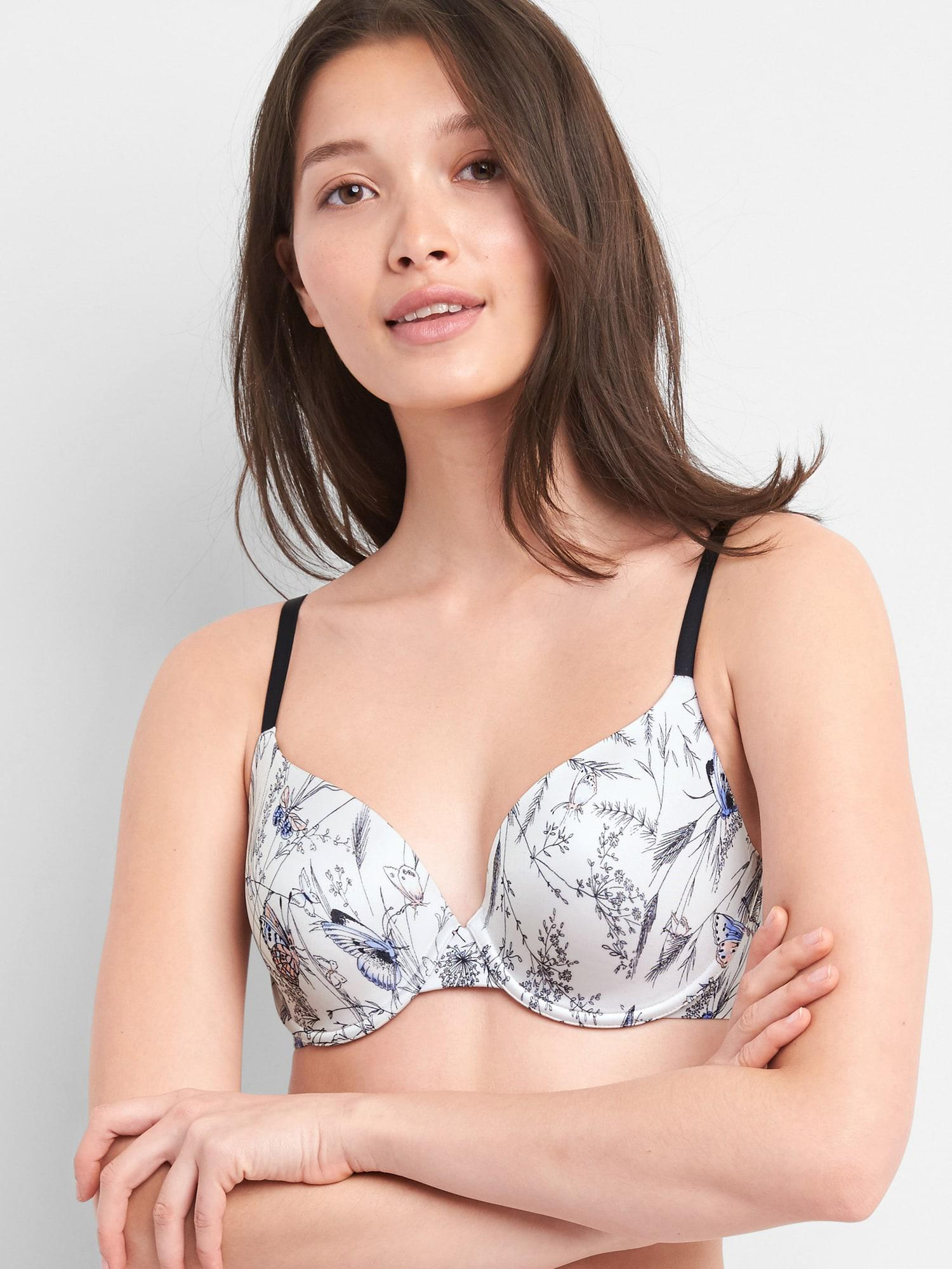 7a3d5779d07b2 Gap Everyday Smooth Favorite Coverage Bra in White - Lyst