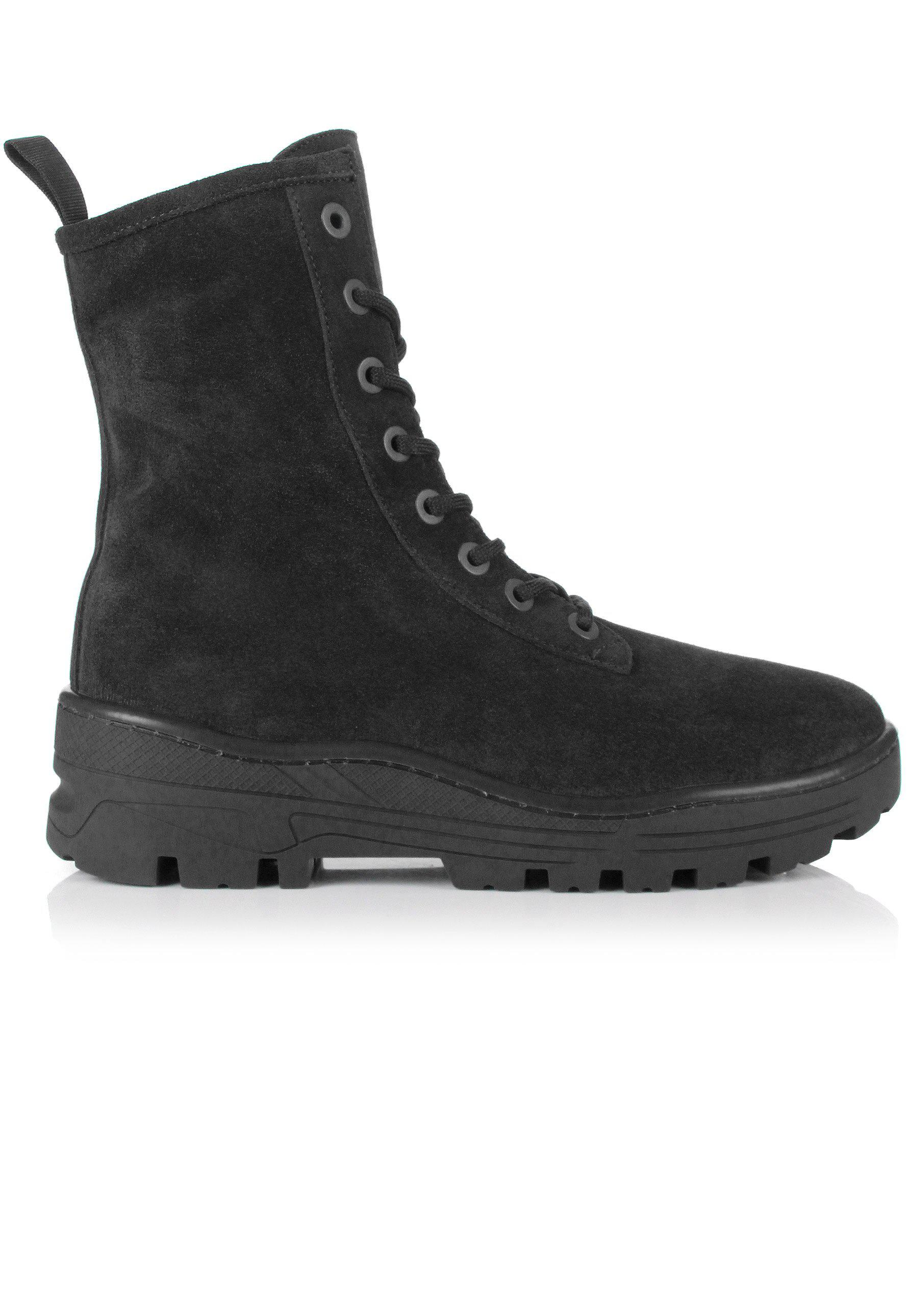 0496824b059 Lyst - Yeezy Season 6 Combat Boots Graphite in Black for Men