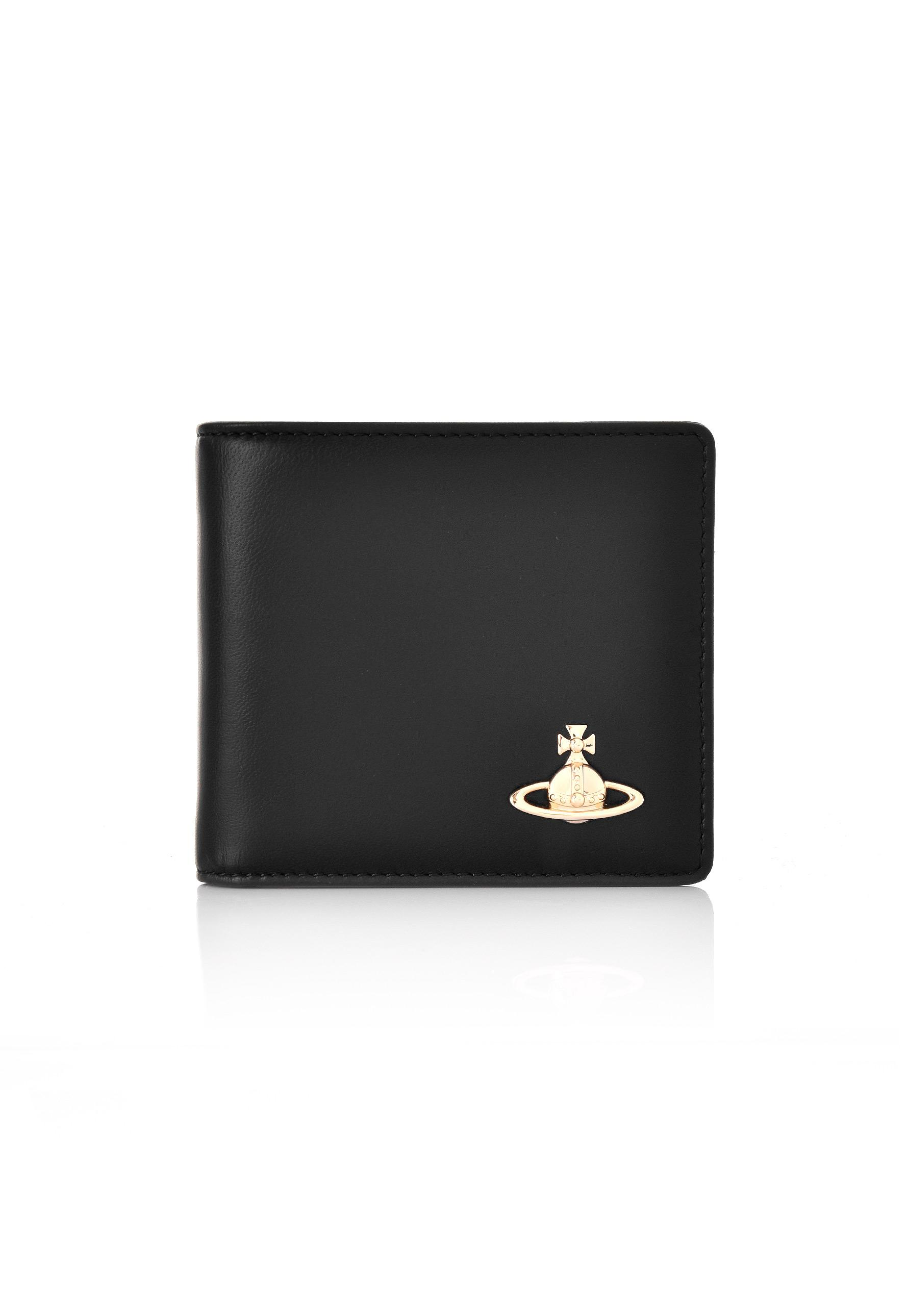 95e0cae9bf7 Vivienne Westwood Emma Billfold Wallet With Coin Pocket 51010009 ...
