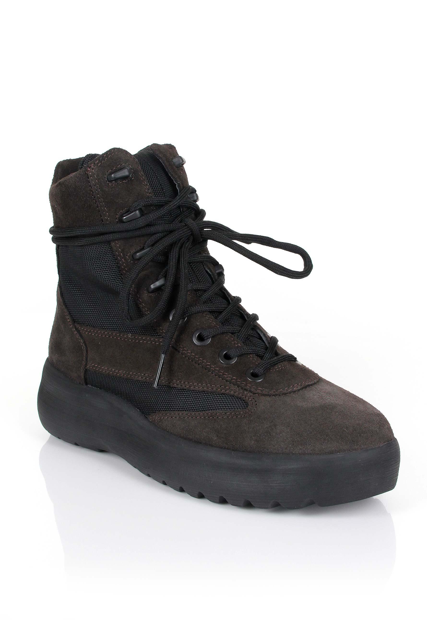 ebc17aaecabaf Lyst - Yeezy Season 5 Military Boots Oil in Black for Men