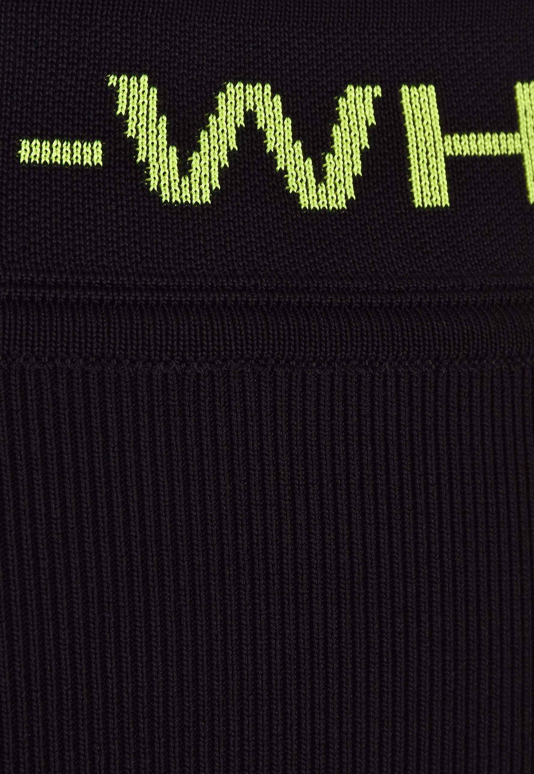 fcbaa5f5f2 Off-White c/o Virgil Abloh - Knitted Mini Skirt Black - Lyst. View  fullscreen