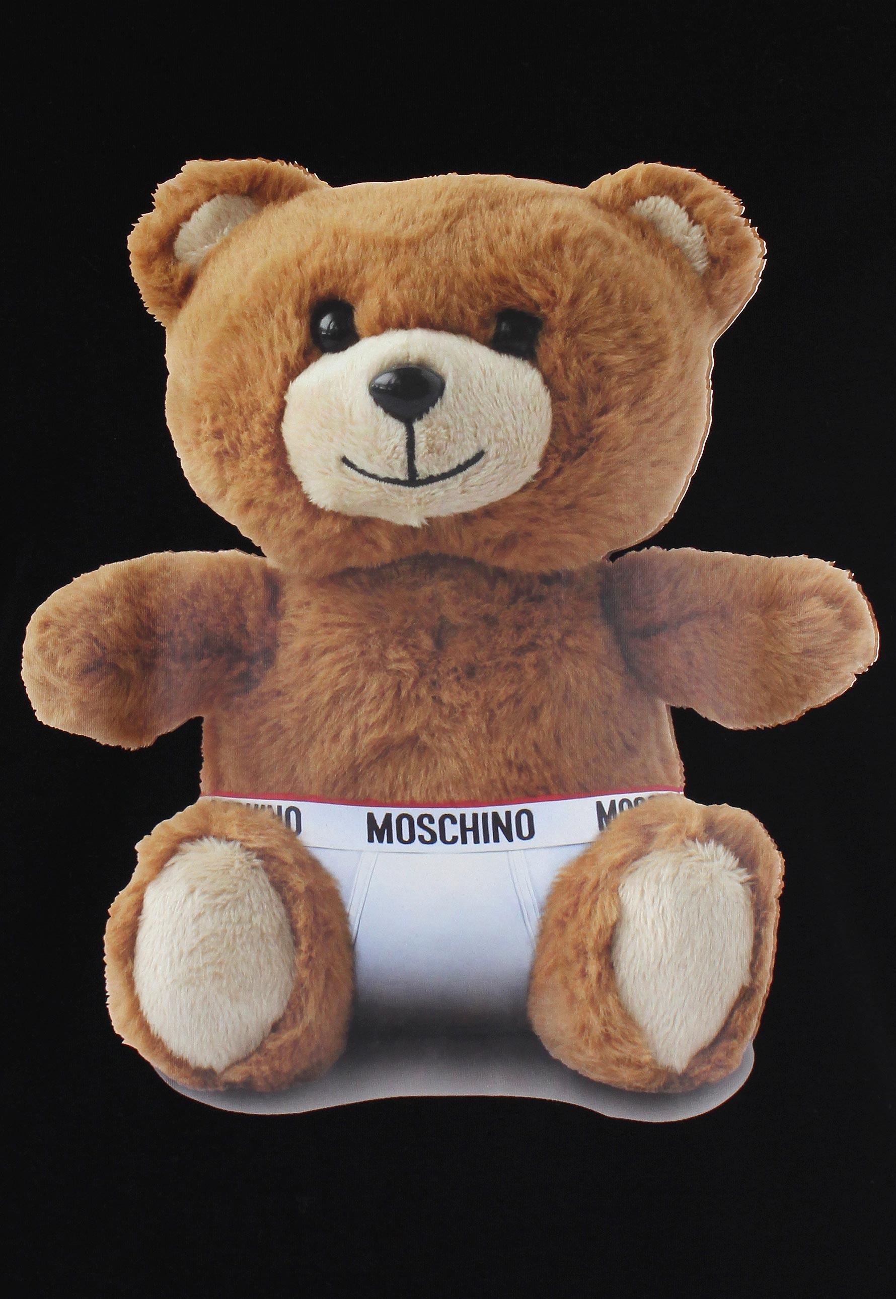 7a95dcb8 Moschino Mens Teddy Bear T Shirt Black In For Men Lyst