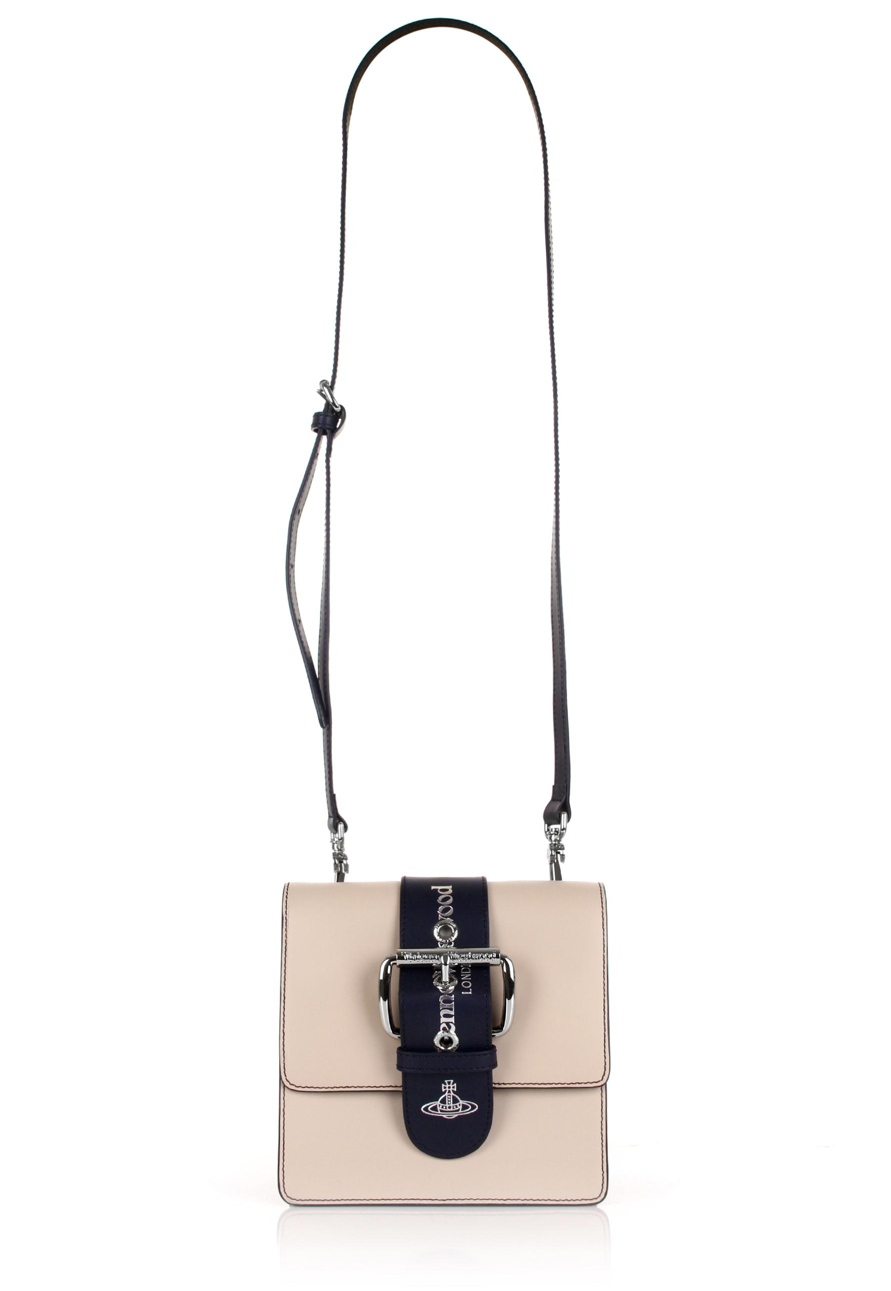 d68bb073ad6e Lyst - Vivienne Westwood Alex 131137 Small Handbag Nude in Natural