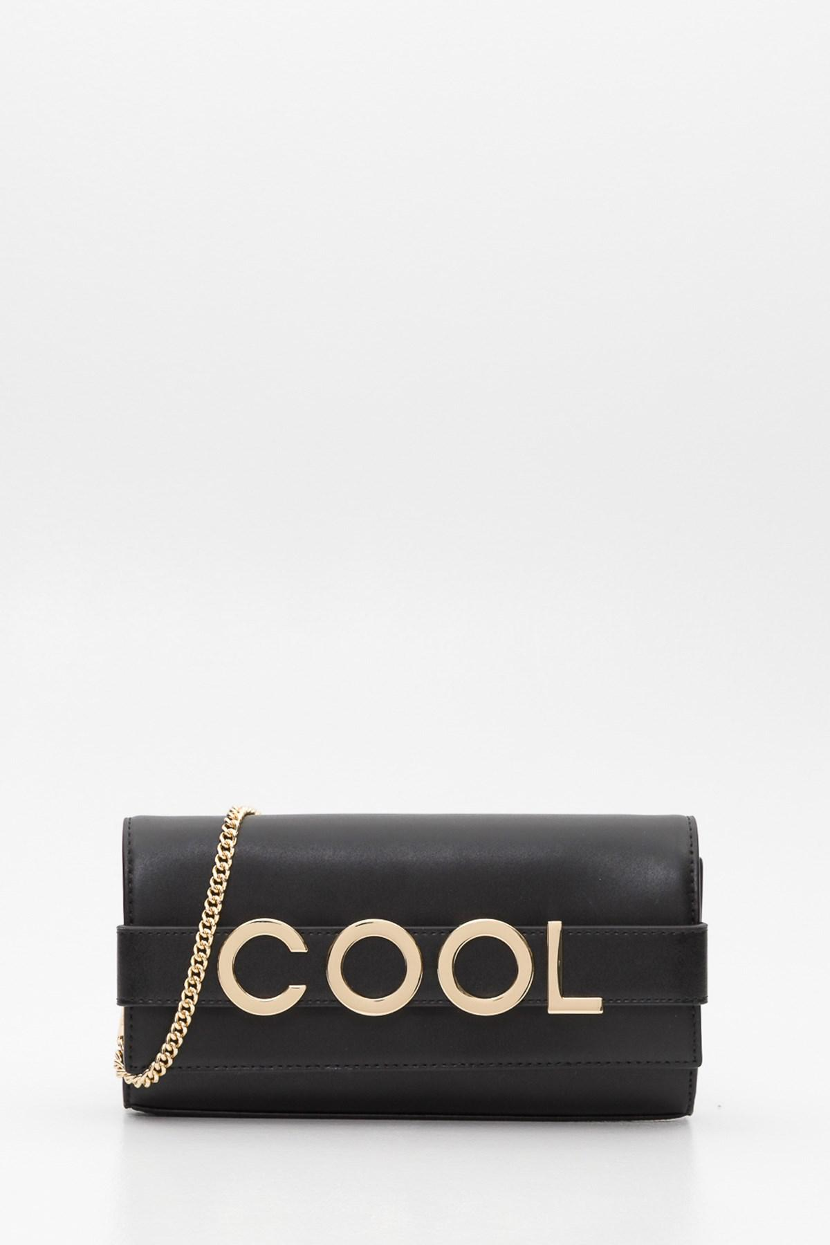 8bfd380a11 MICHAEL Michael Kors - Black Bellamie Embellished Leather Clutch - Lyst.  View fullscreen